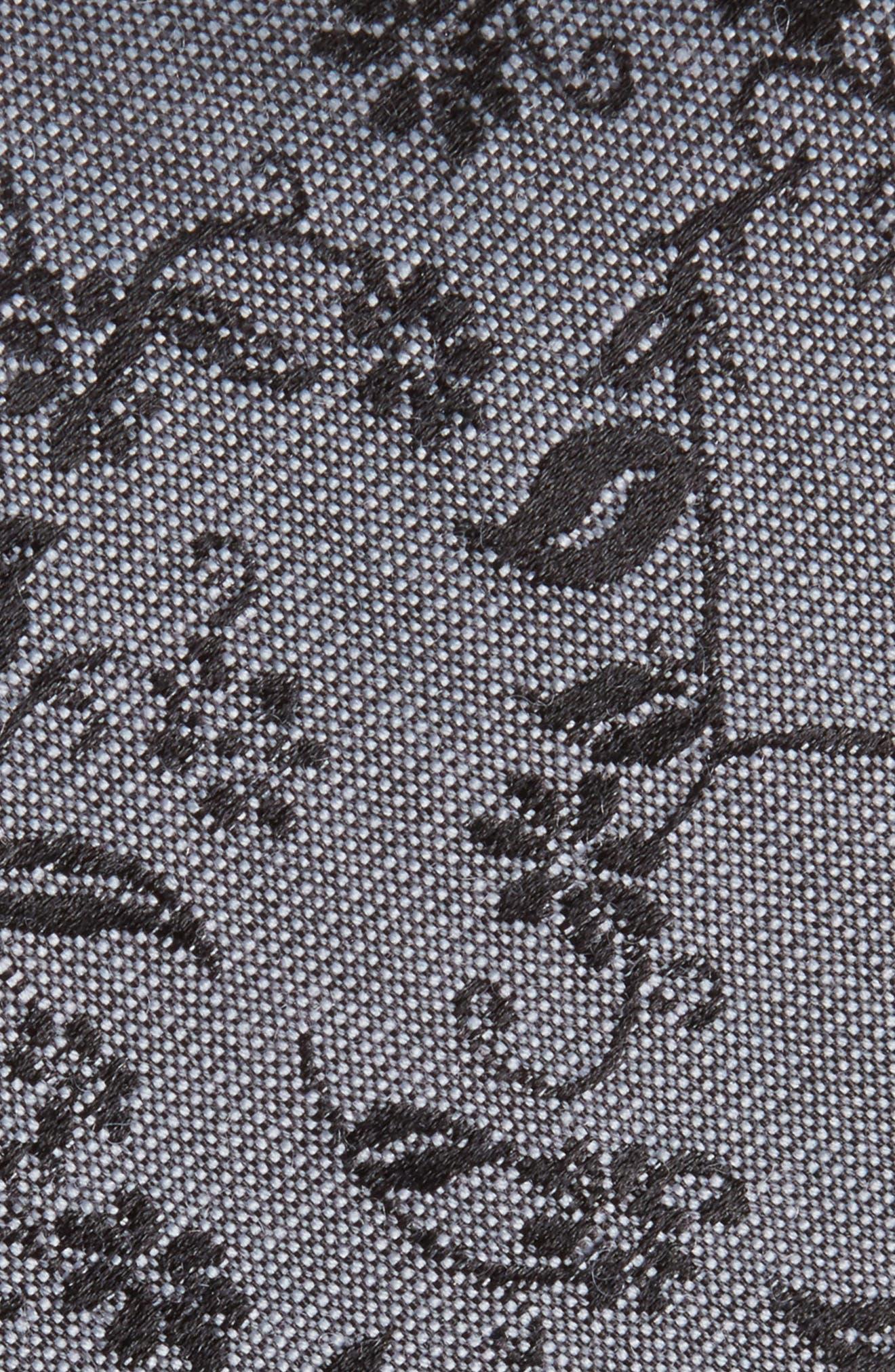 Alternate Image 2  - Nordstrom Men's Shop Emerson Floral Wool & Silk Tie