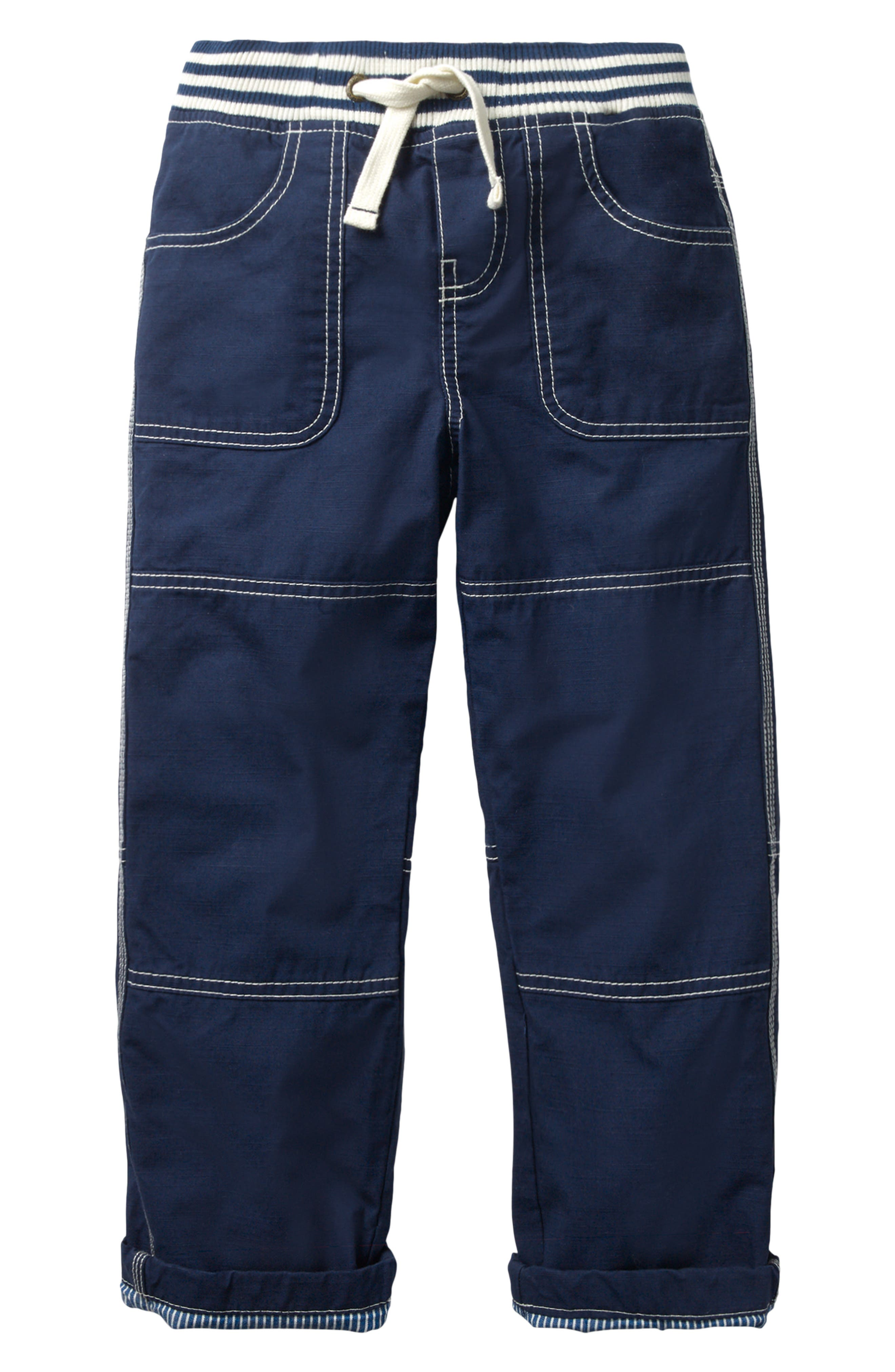 Mini Boden Lined Mariner Pants (Toddler Boys, Little Boys & Big Boys)