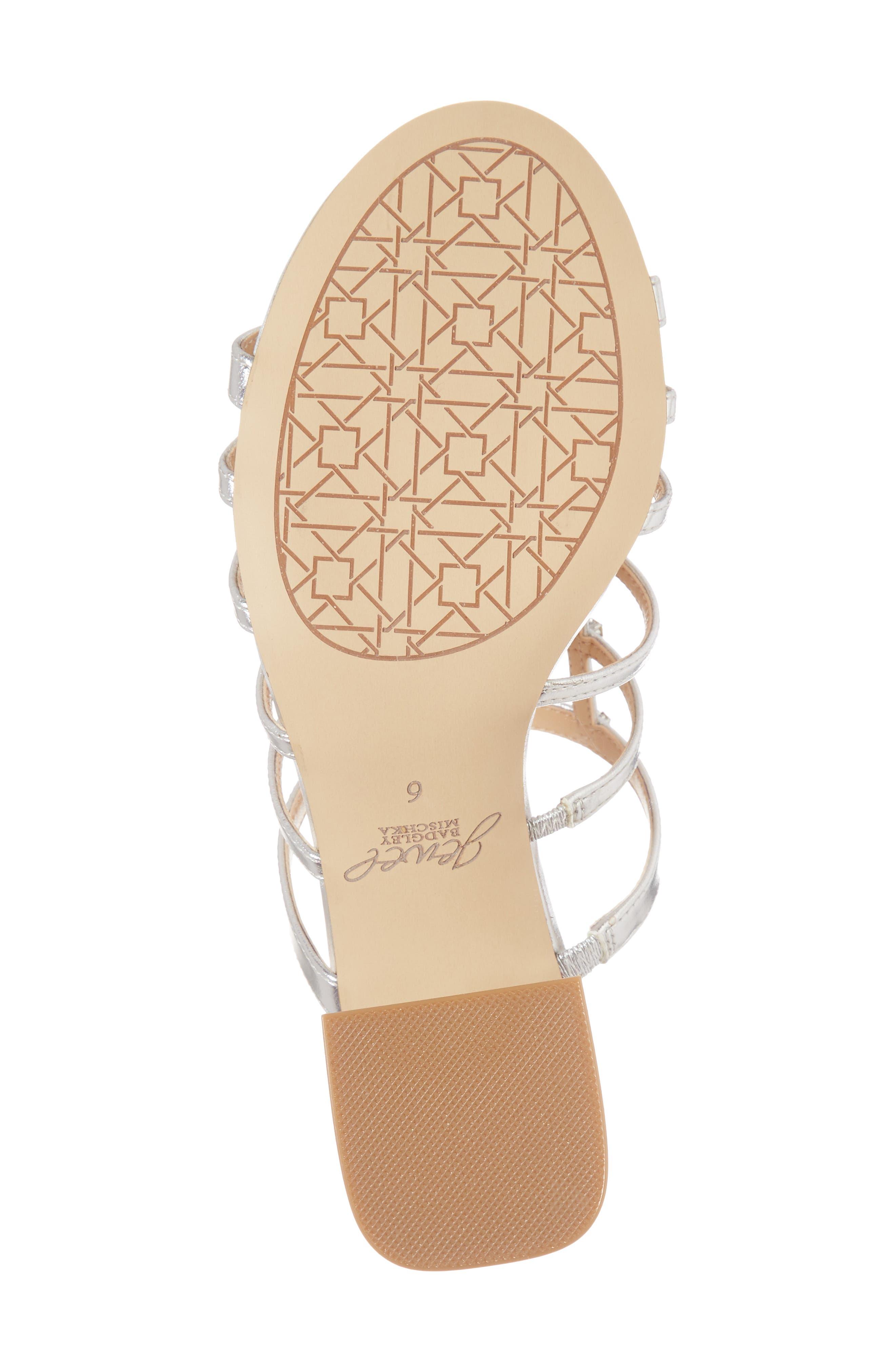 Alternate Image 6  - Jewel Badgley Mischka Thorne Crystal Rose Embellished Slide Sandal (Women)