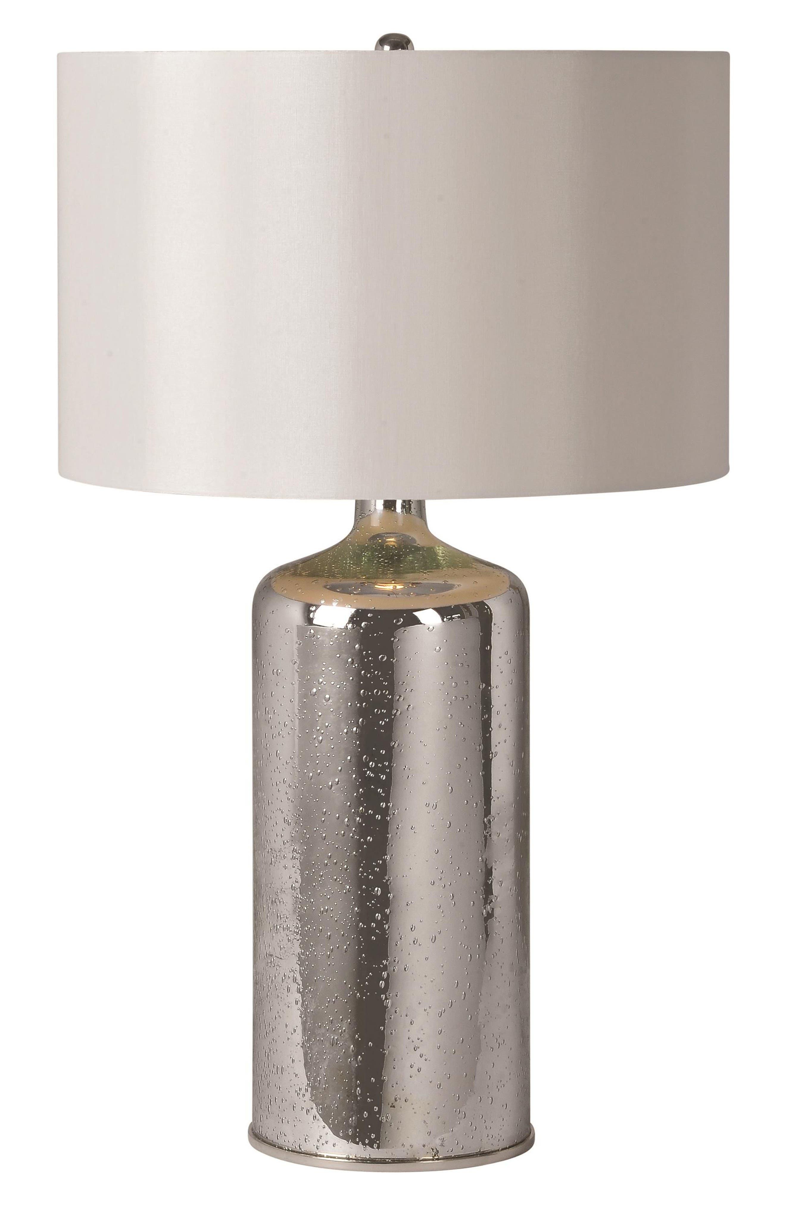 Rita Table Lamp,                         Main,                         color, Silver Plated