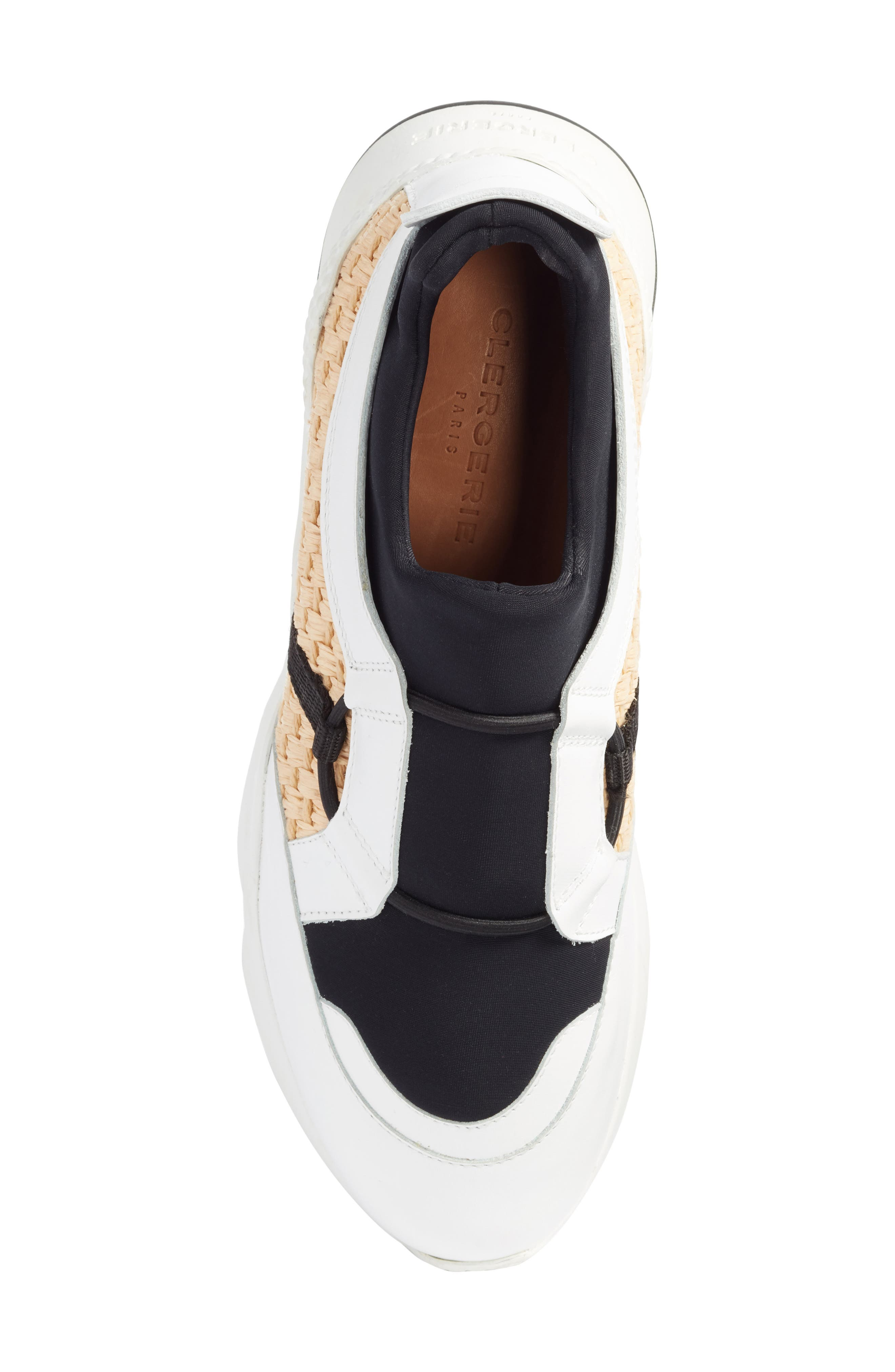 Alternate Image 5  - Robert Clergerie Salvy Woven Sneaker (Women)