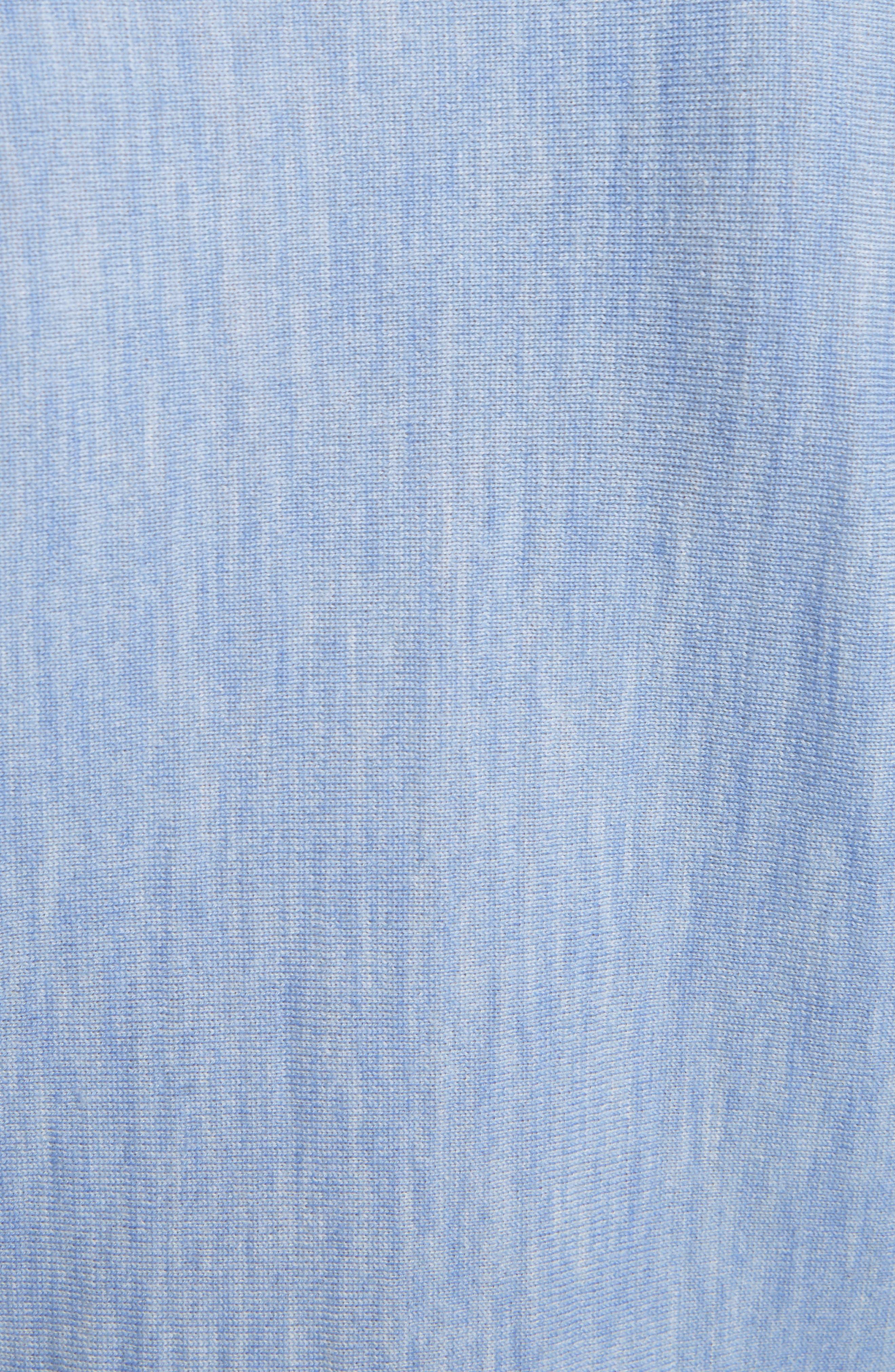 Alternate Image 6  - Victoria, Victoria Beckham Stripe Wool Dolman Sweater