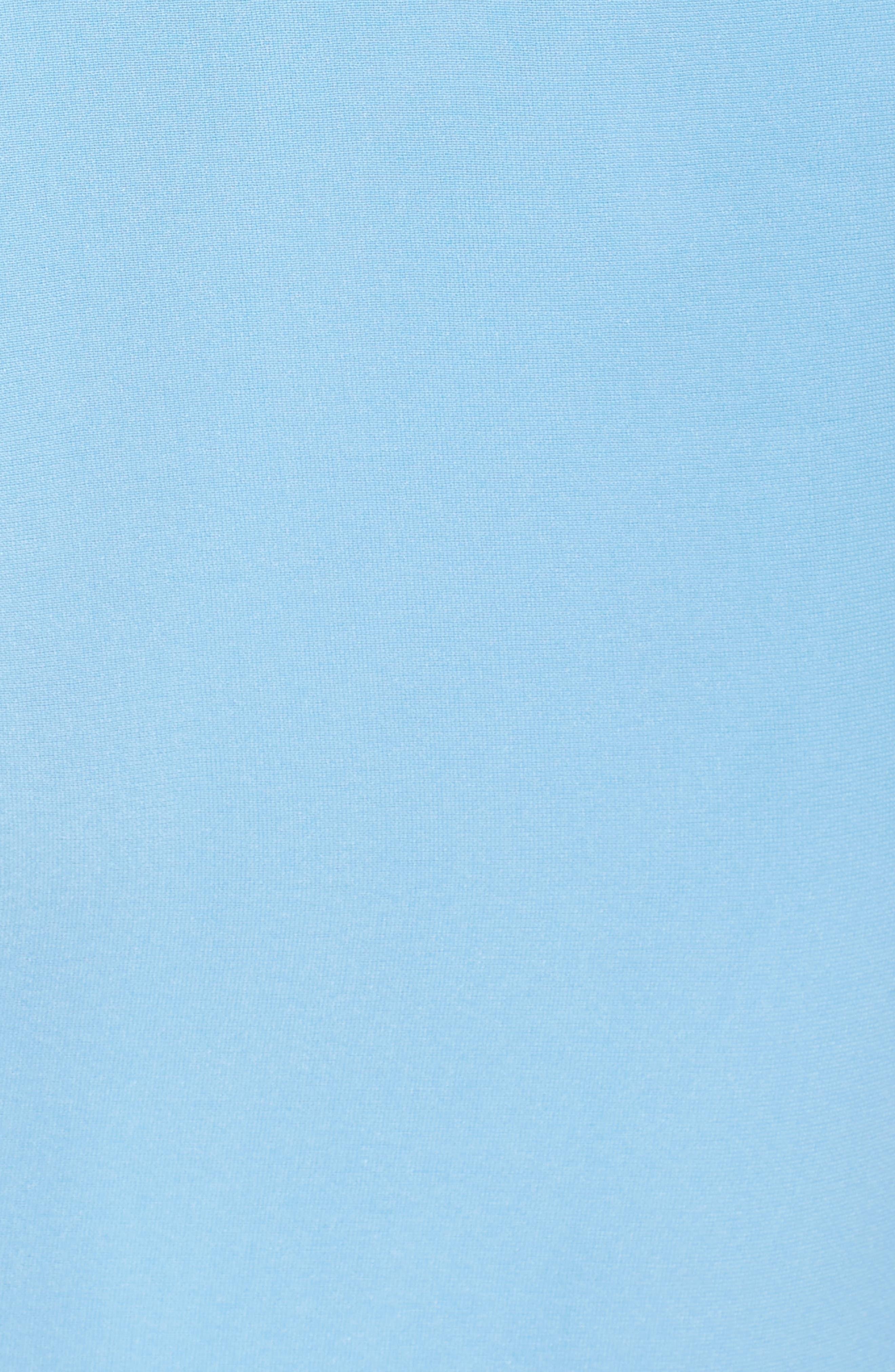 Ember Glow Drape Dress,                             Alternate thumbnail 5, color,                             Dusk Blue