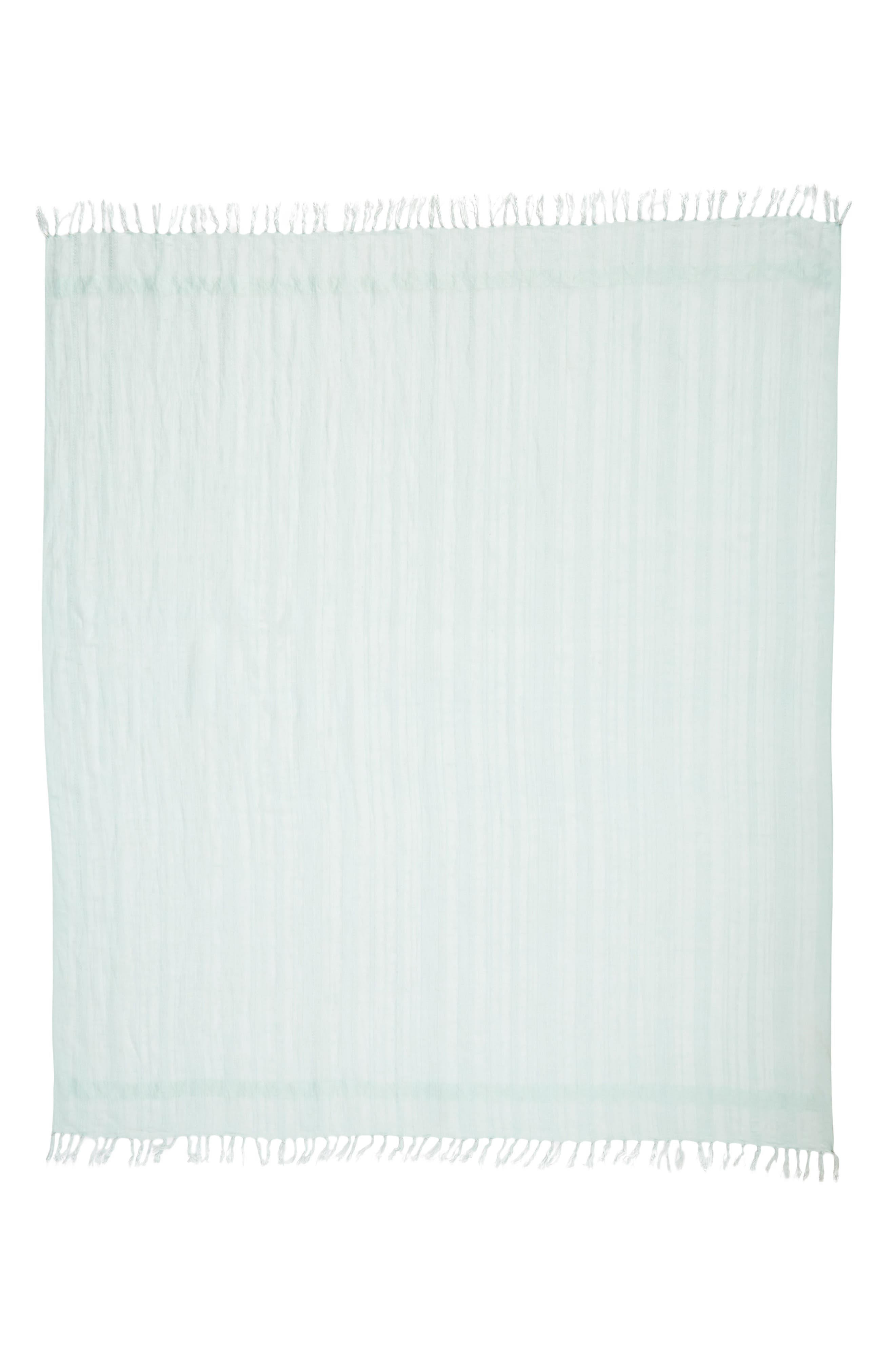Alternate Image 3  - Caslon® Solid Linen Blend Scarf