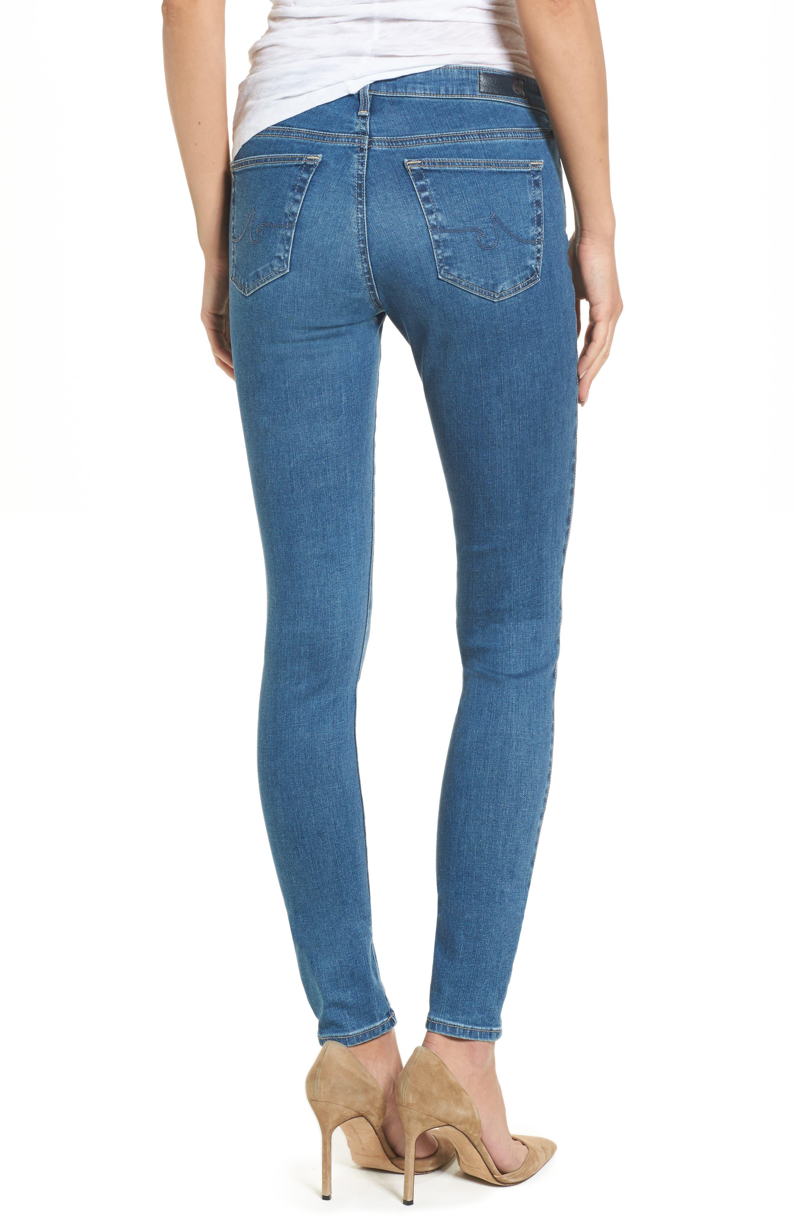 The Legging Super Skinny Jeans,                             Alternate thumbnail 2, color,                             Indigo Viking