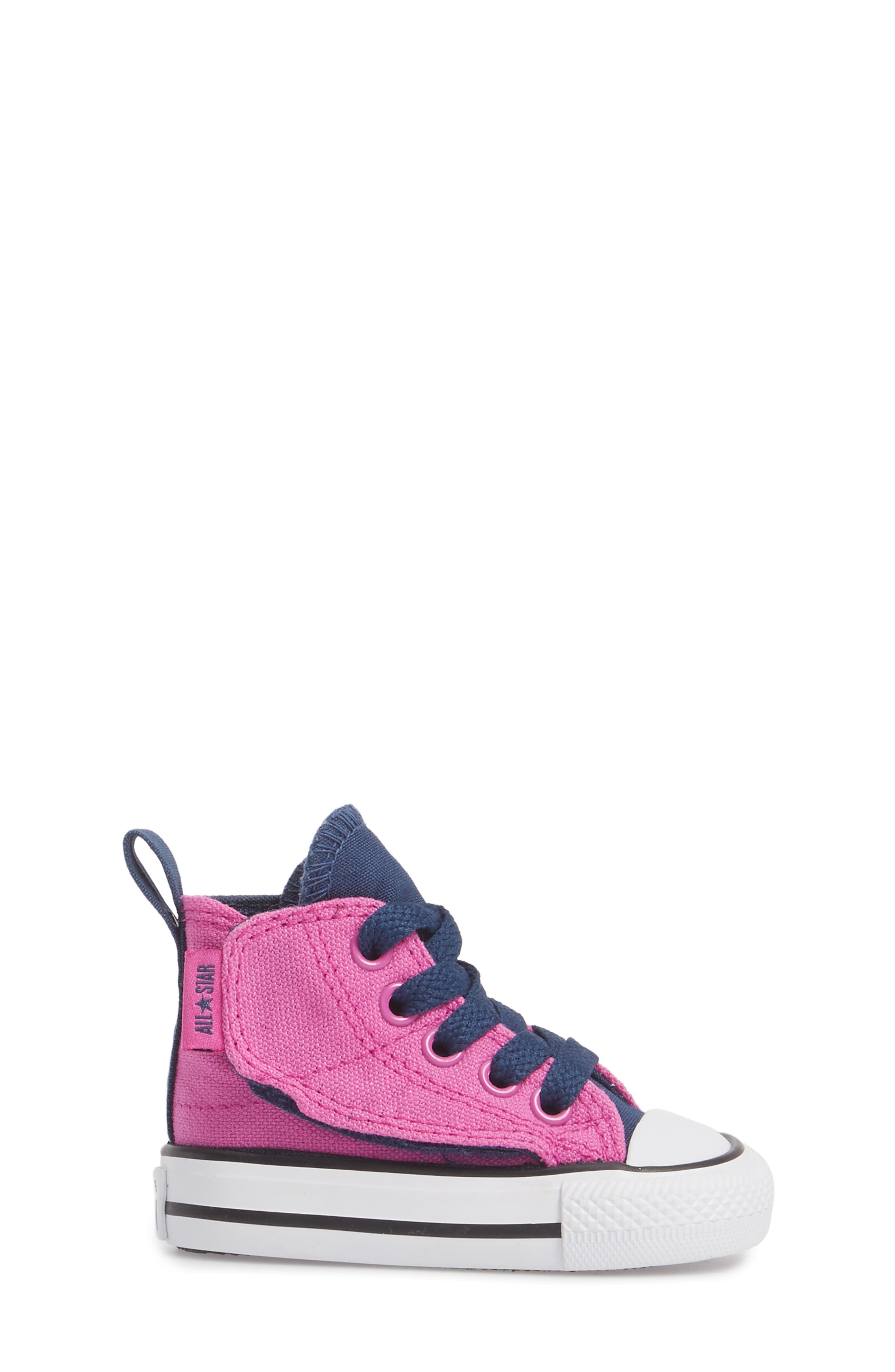 Alternate Image 3  - Converse Chuck Taylor® All Star® 'Simple Step' High Top Sneaker (Baby, Walker & Toddler)