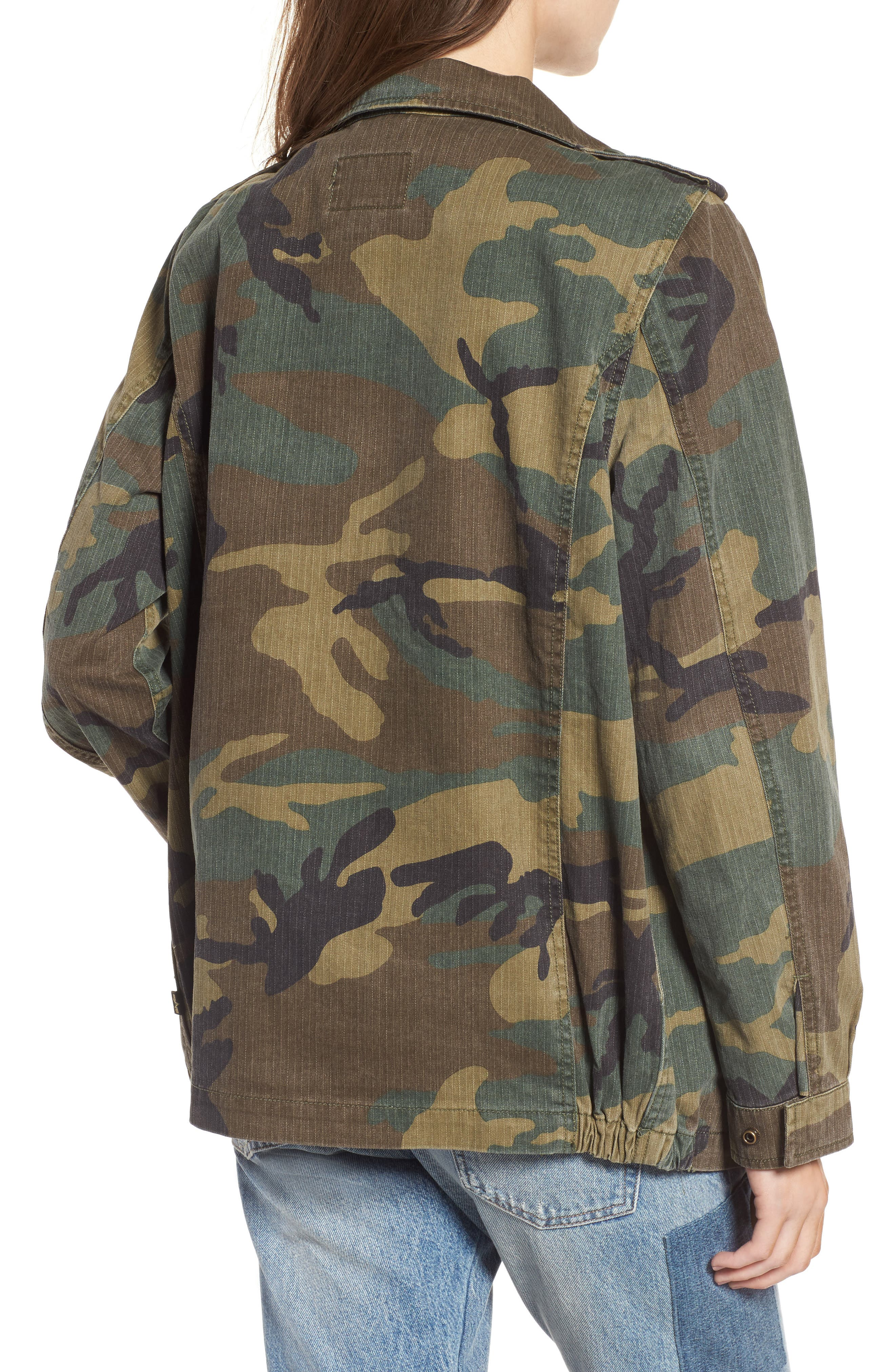 Alternate Image 2  - Alpha Industries F-2 French Field Coat