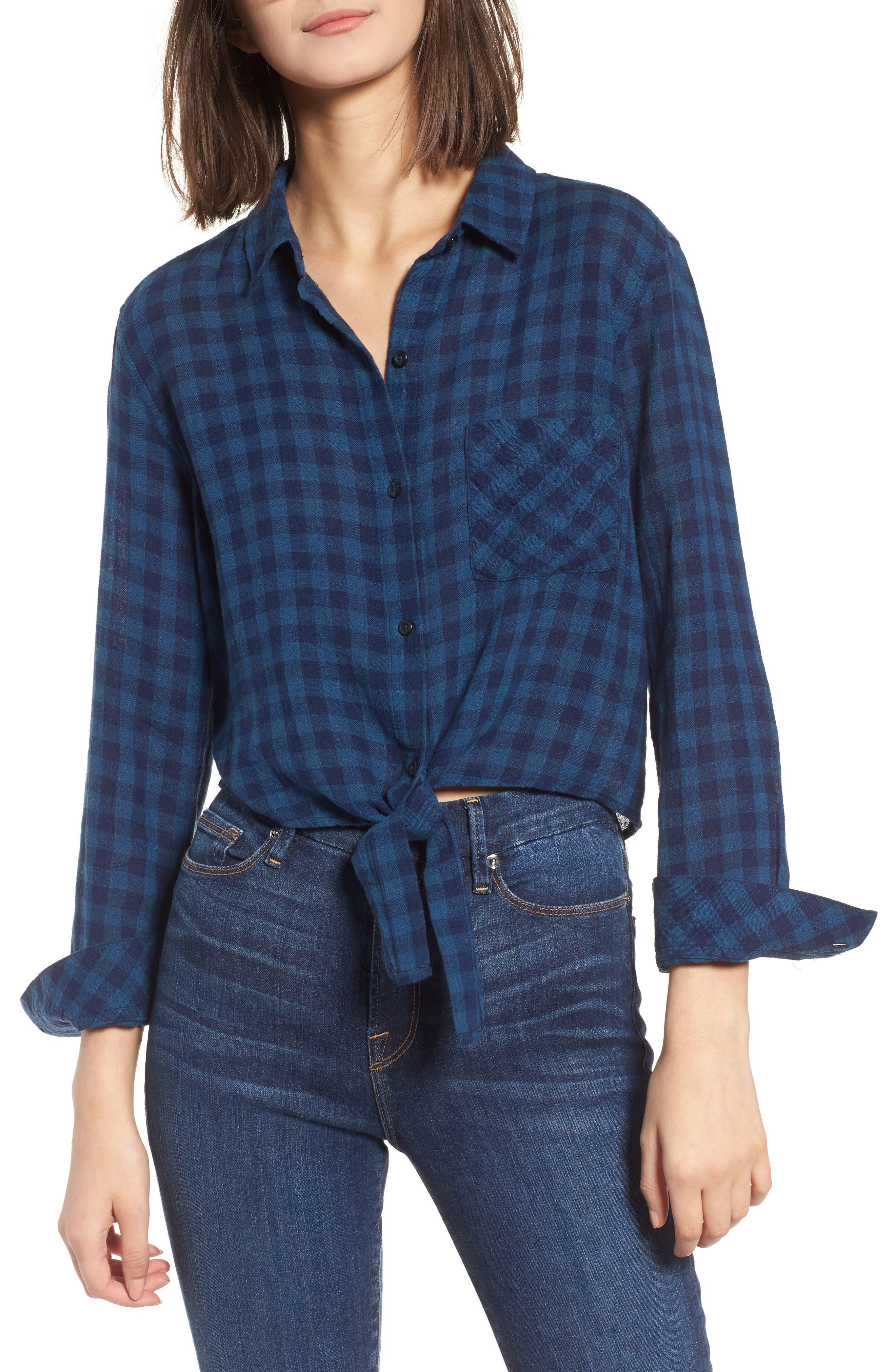 Rails Val Tie Front Shirt