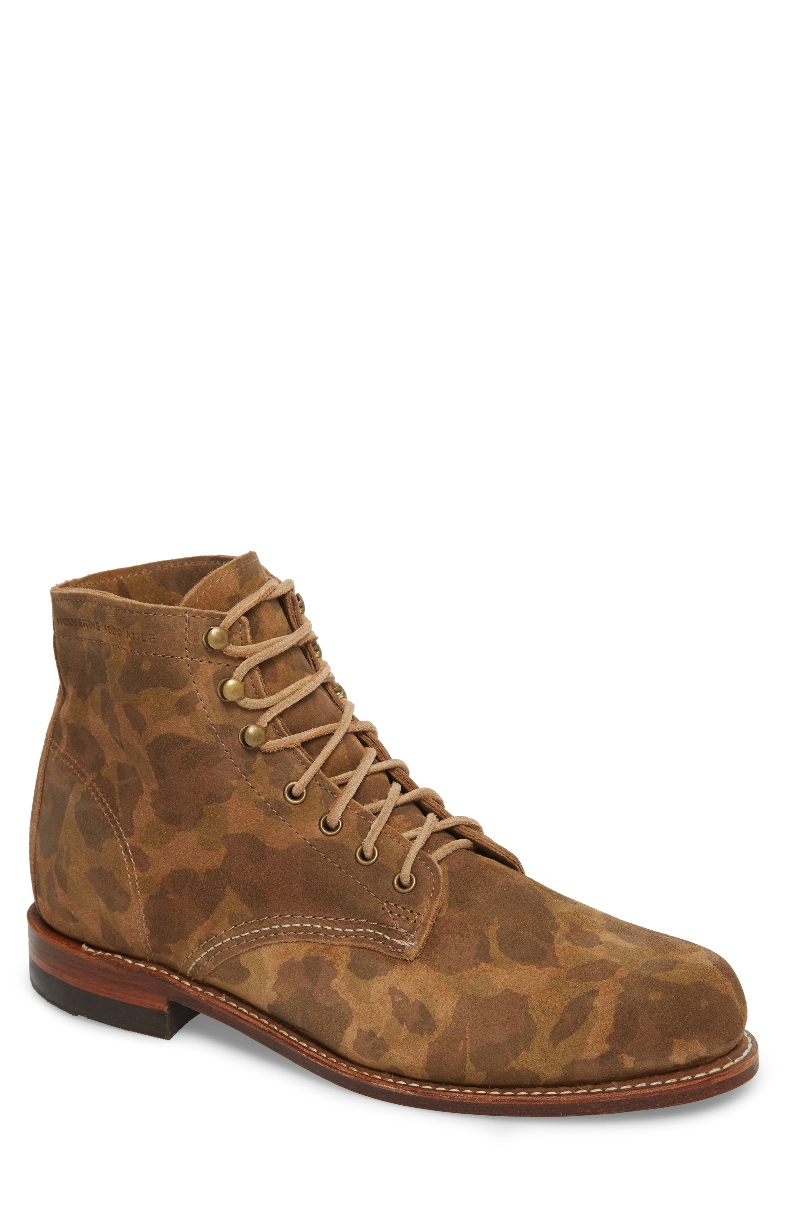 1000 Mile Original Boot,                         Main,                         color, Camo