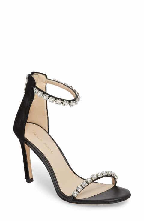 Pelle Moda Frisk Embellished Sandal Women