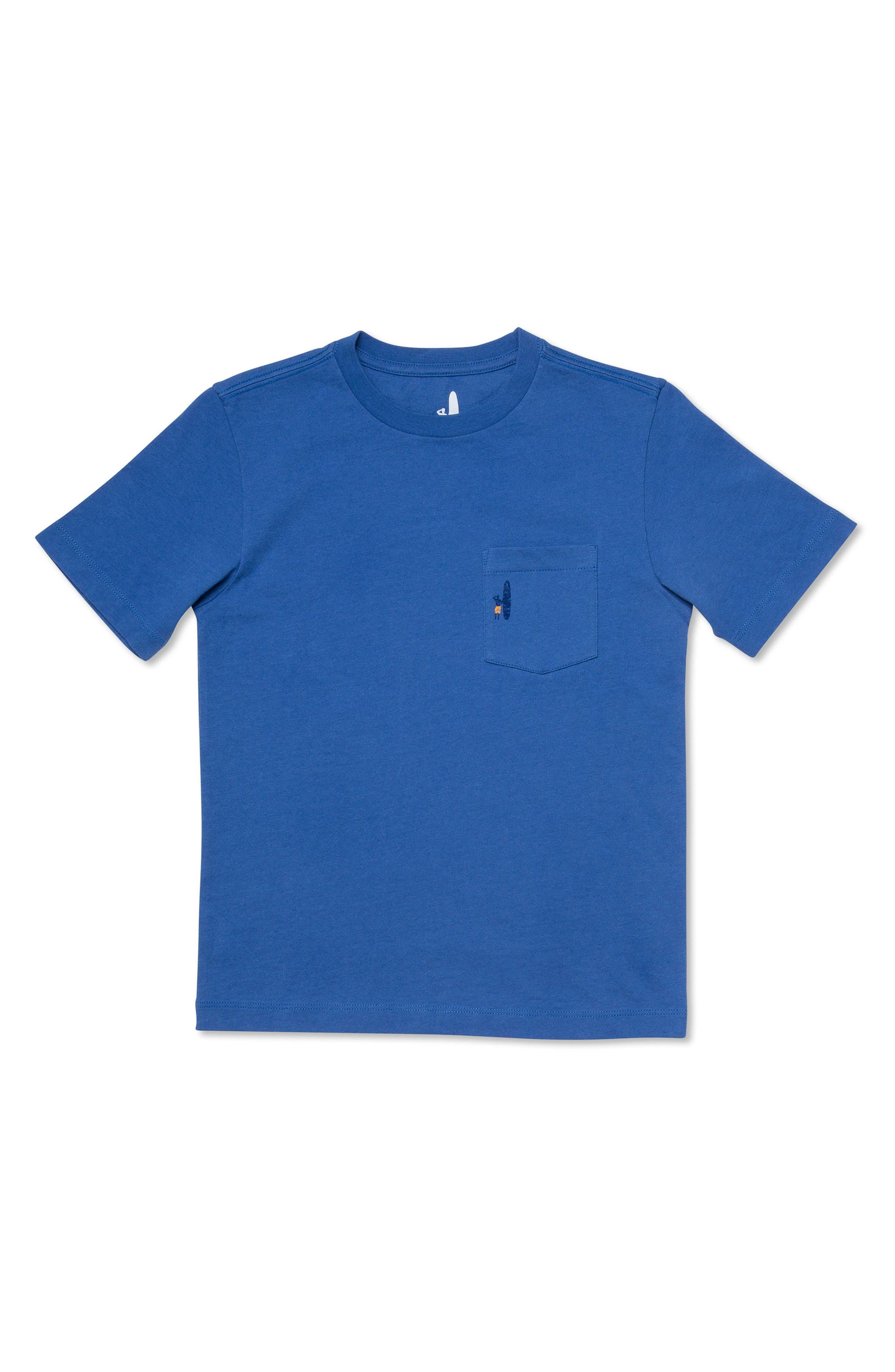 Heatwave Graphic Pocket T-Shirt,                             Main thumbnail 1, color,                             Laguna Blue