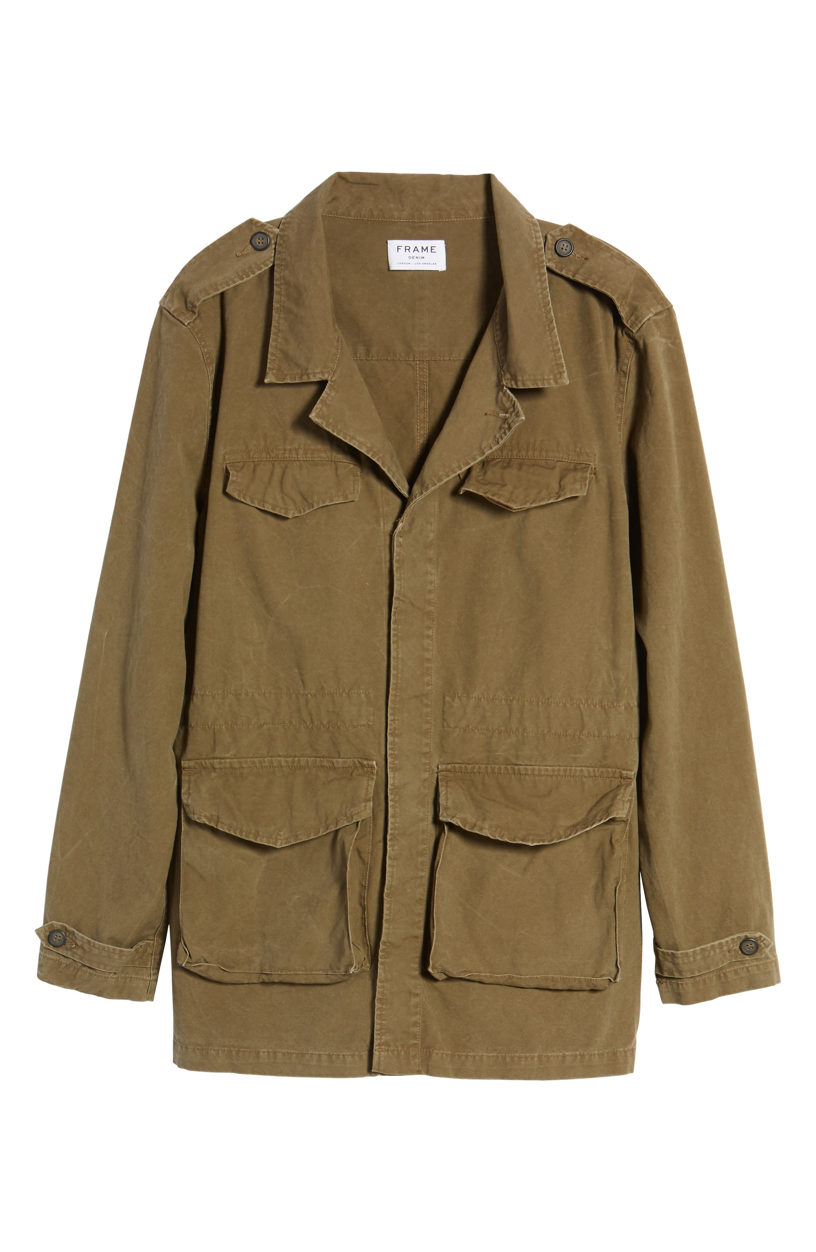 Field Jacket,                             Alternate thumbnail 6, color,                             Army Green