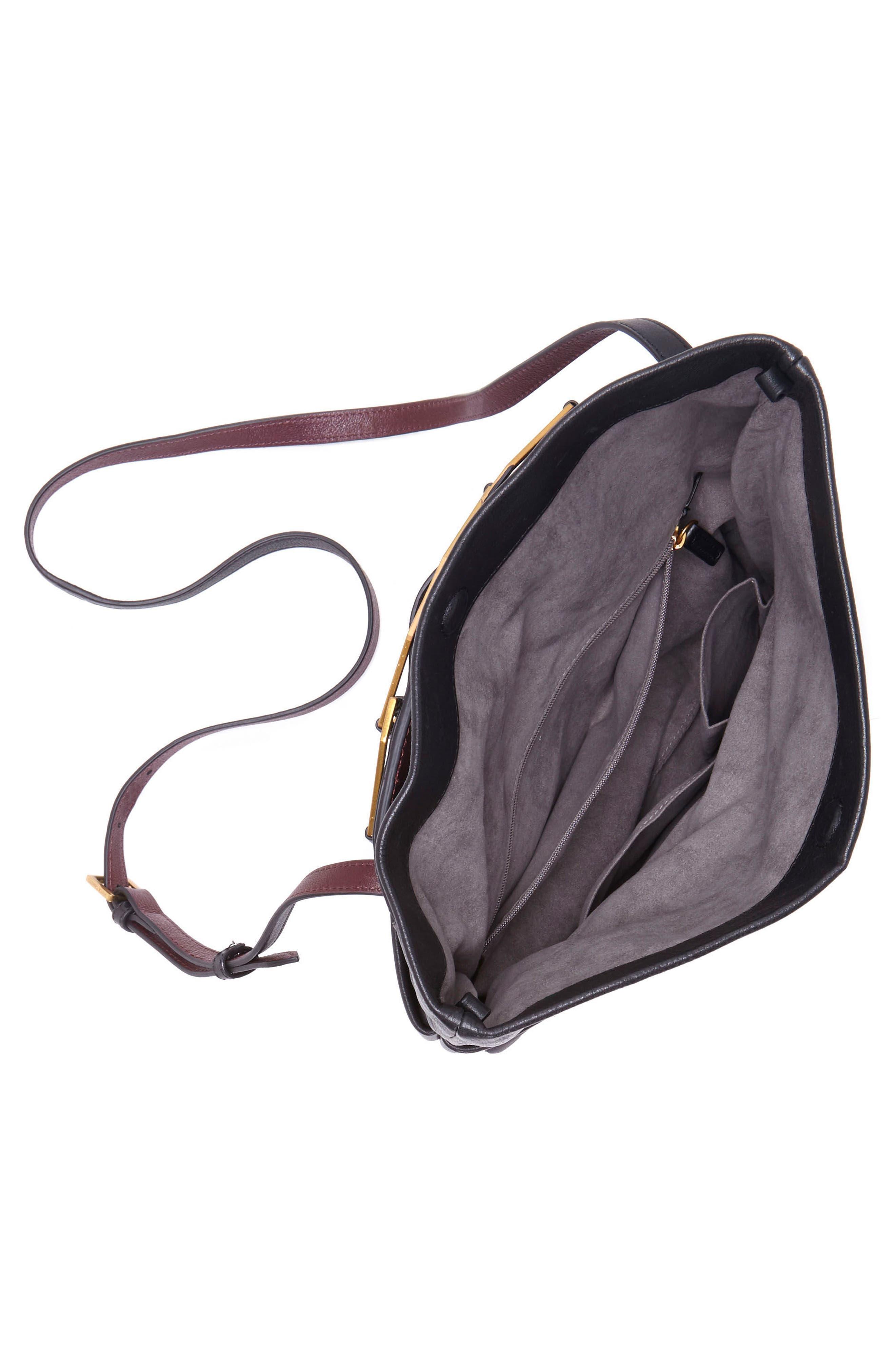 Alternate Image 3  - Vince Camuto Luk Leather Foldover Clutch