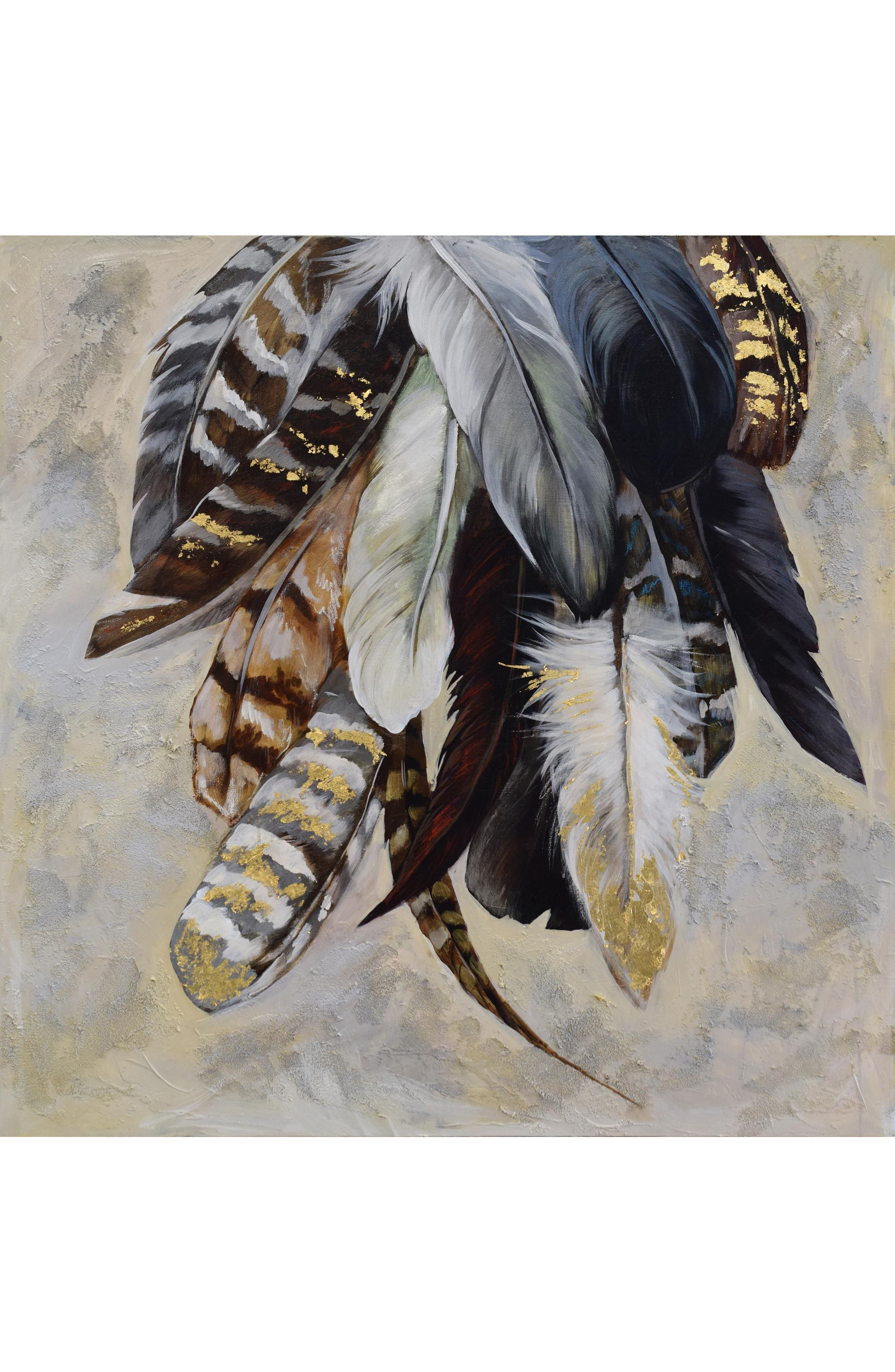 Feathertail Canvas Art,                             Main thumbnail 1, color,                             Multicolor