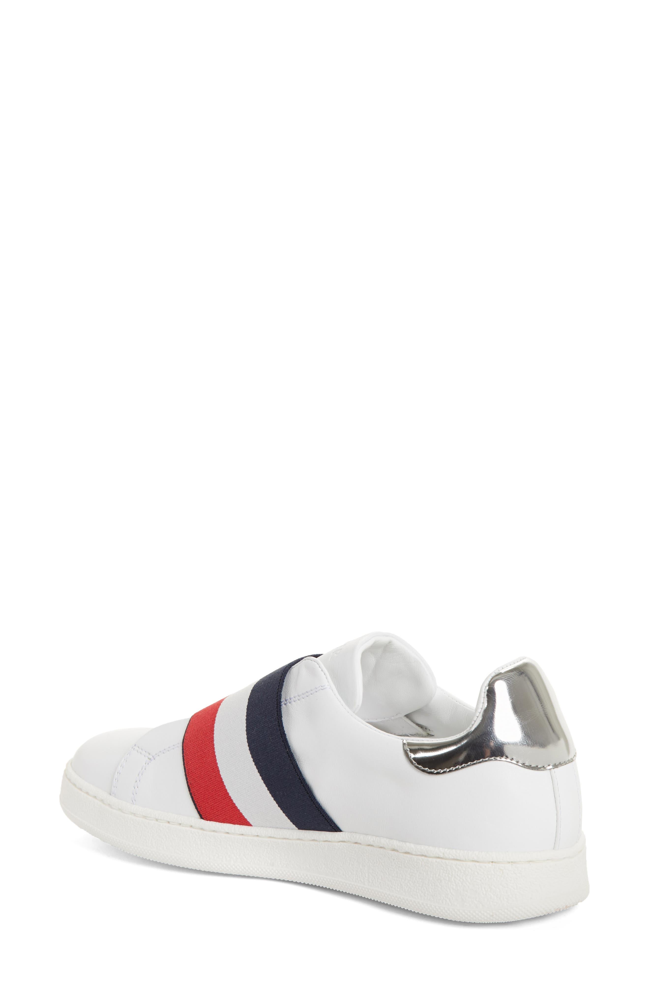 Alizee Low Top Sneaker,                             Alternate thumbnail 2, color,                             White