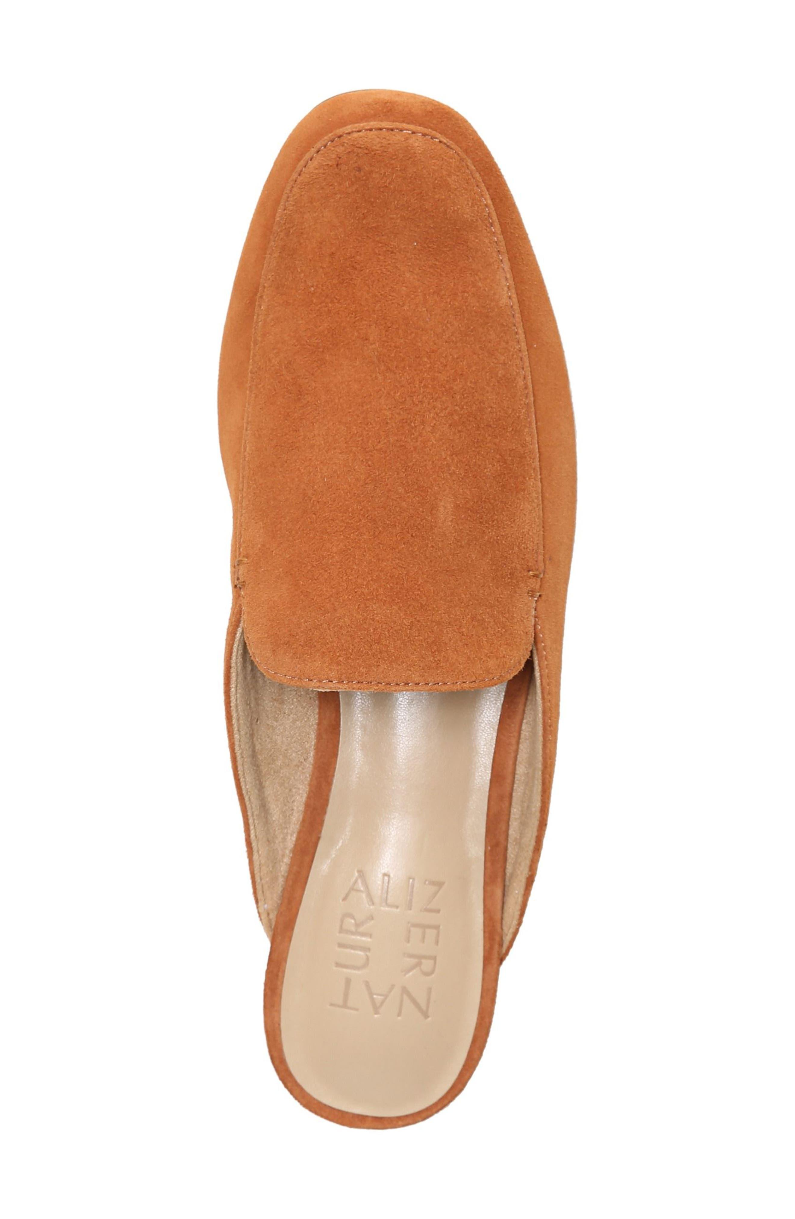 Eden Mule,                             Alternate thumbnail 5, color,                             Light Maple Leather