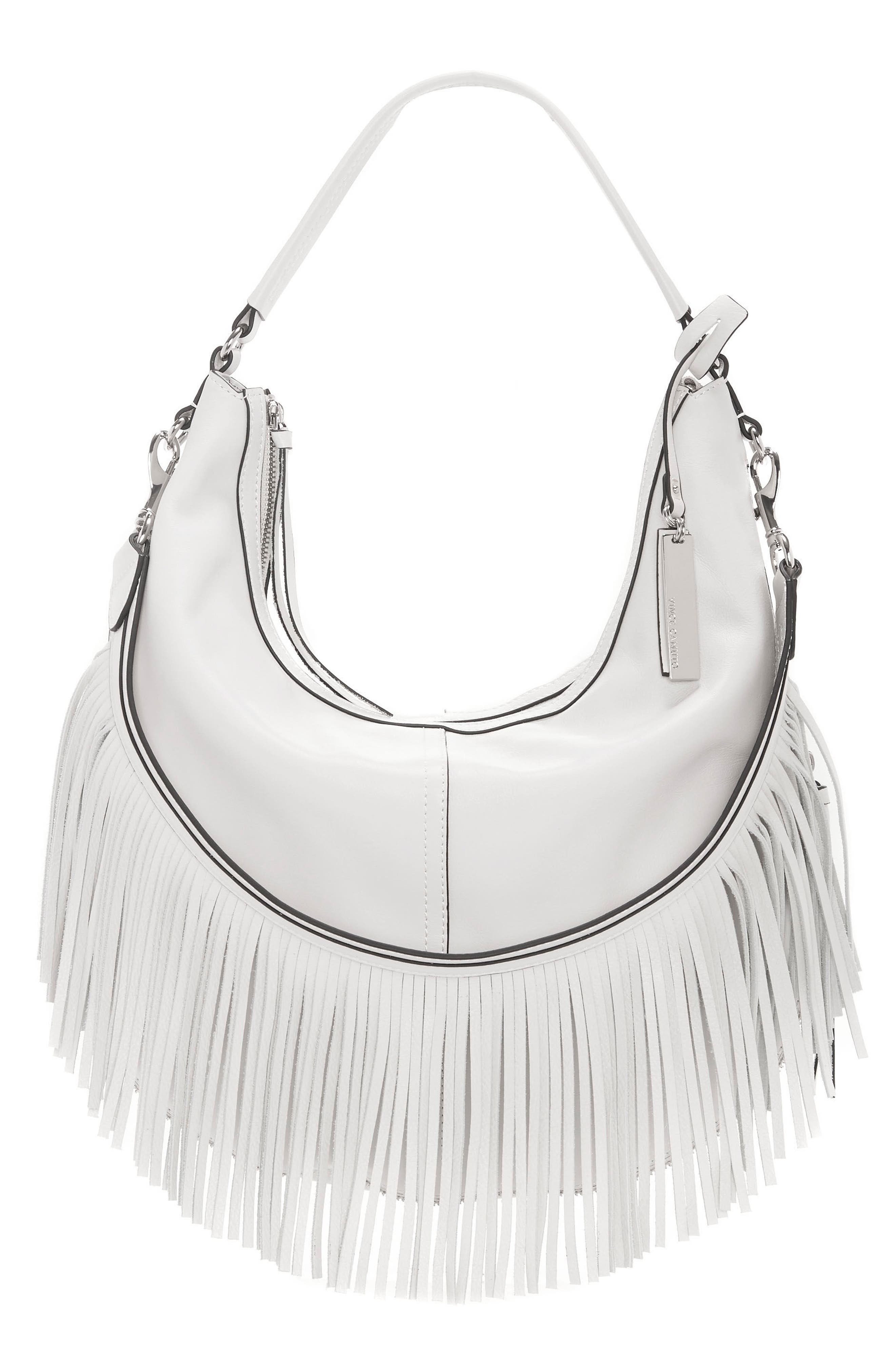 Alternate Image 1 Selected - Vince Camuto Hil Leather Hobo Bag