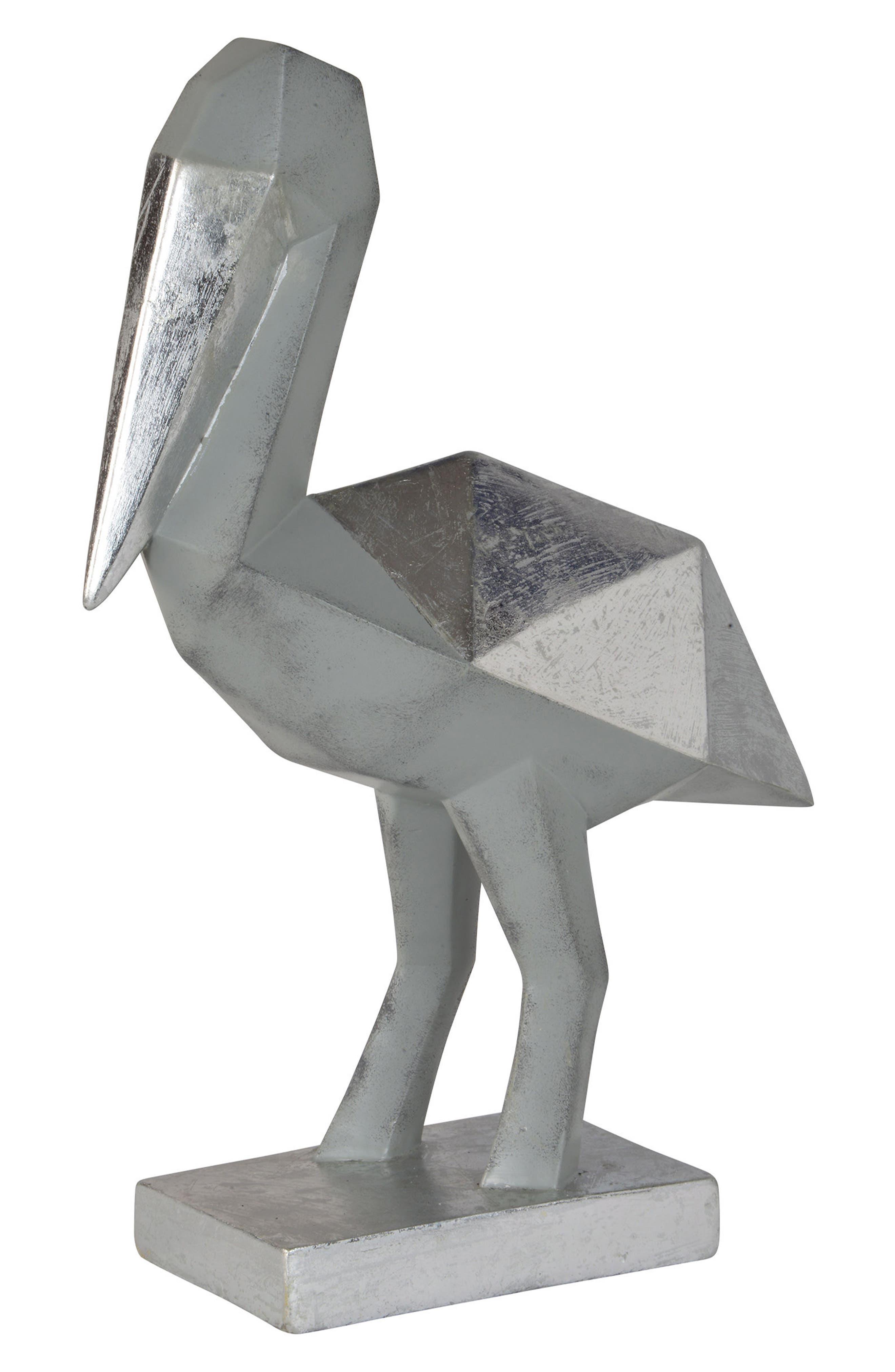 Anati Statue,                             Alternate thumbnail 2, color,                             Silver Leaf