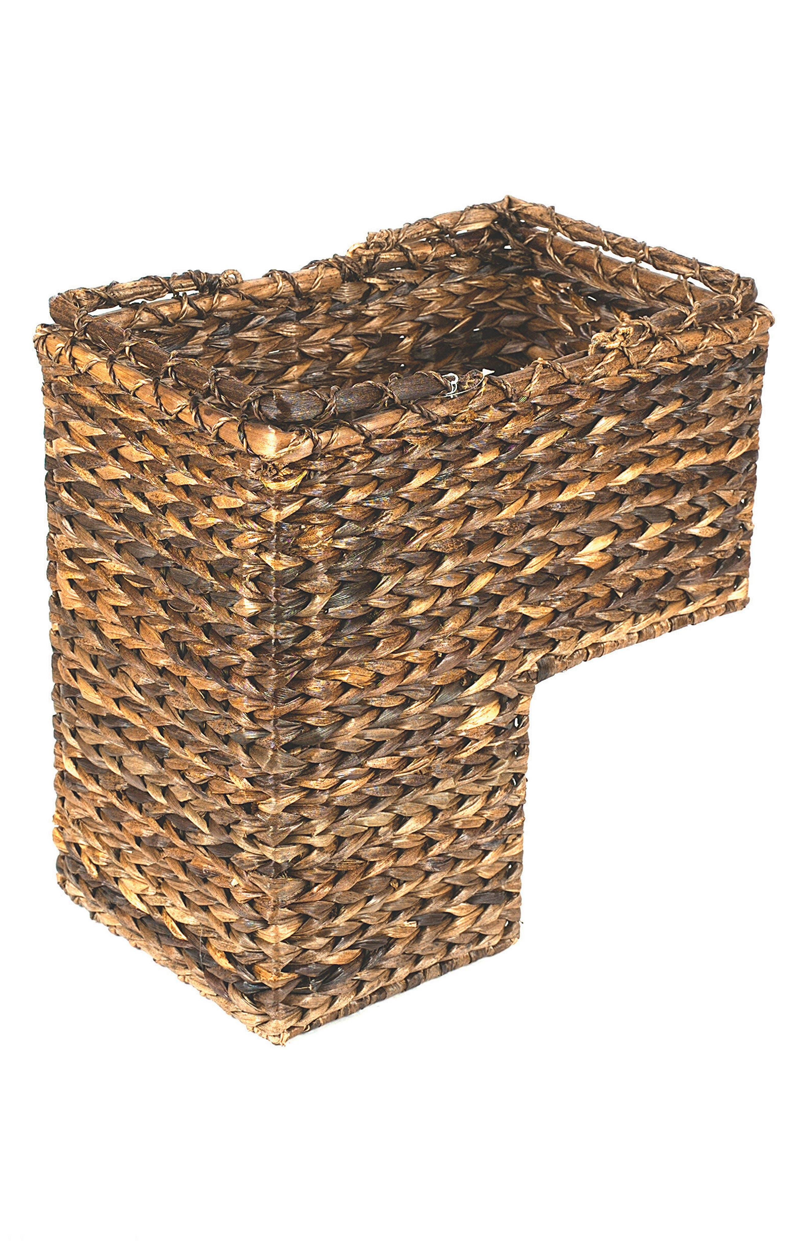 Stair Basket,                             Main thumbnail 1, color,                             Natural