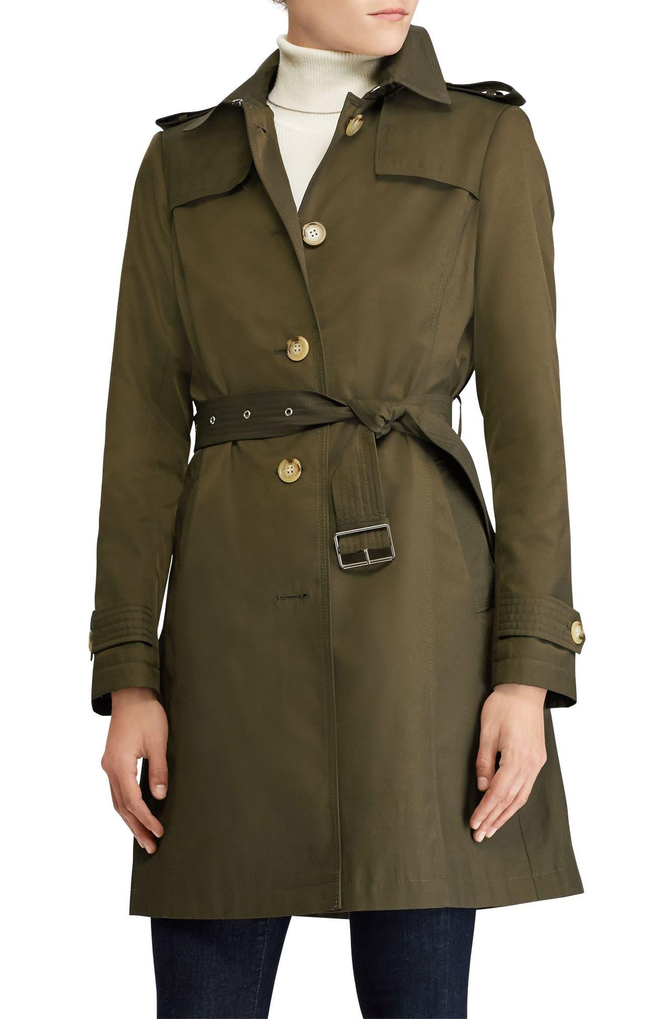 Lauren Ralph Lauren Trench Coat (Petite)