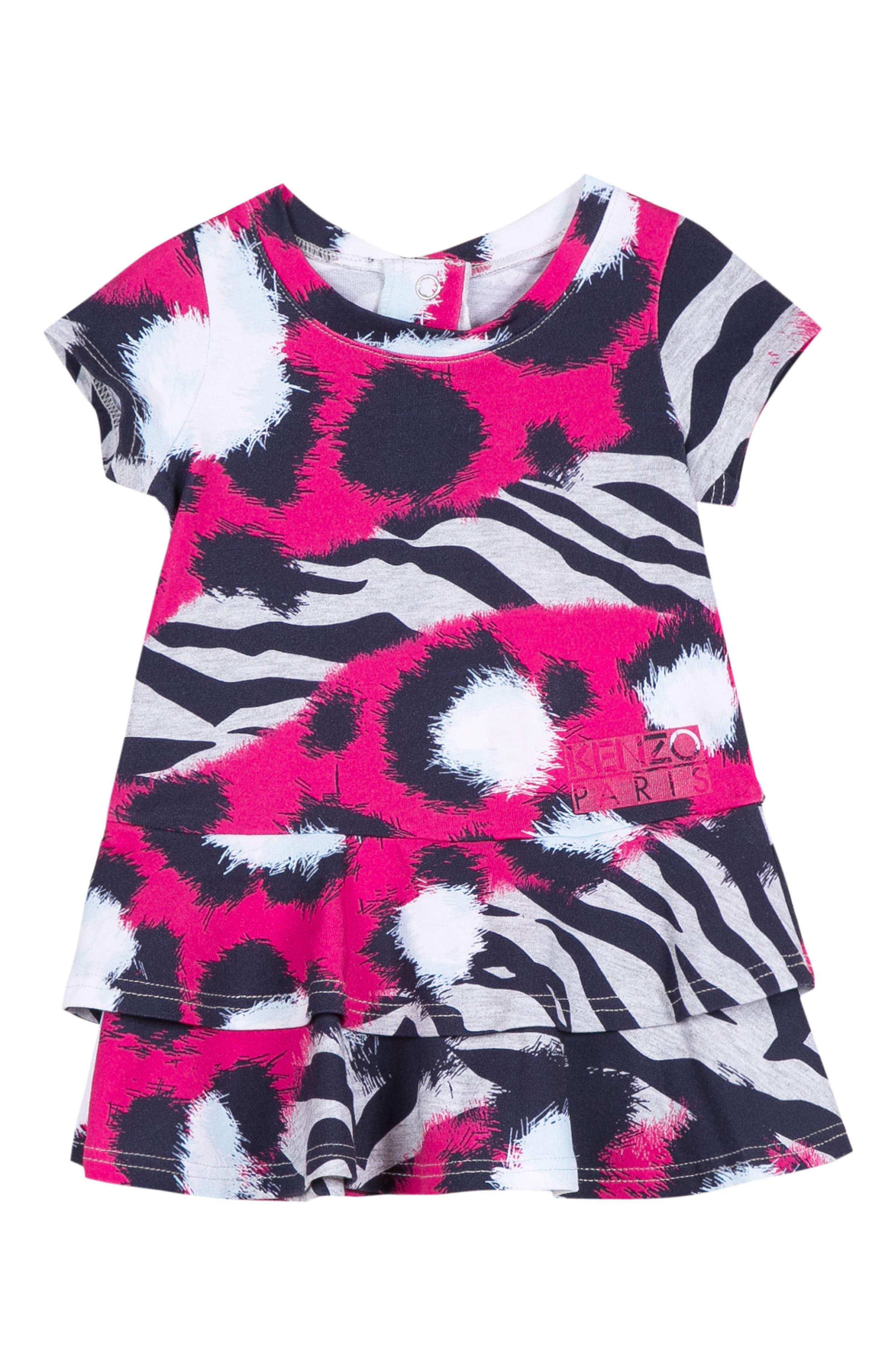 KENZO Animal Print Dress (Baby Girls)