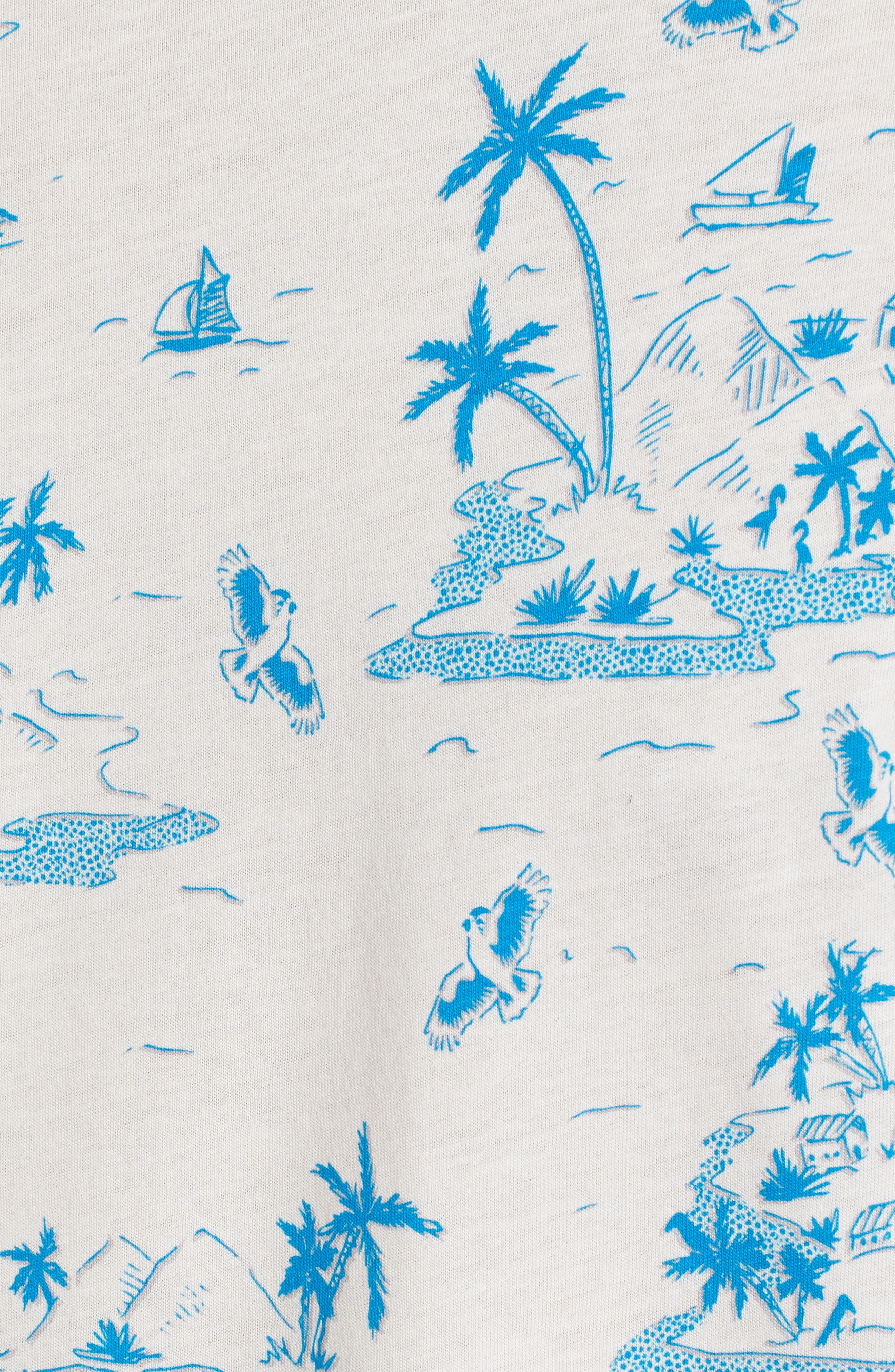 Alternate Image 5  - Ted Baker London Lamp Island Print T-Shirt