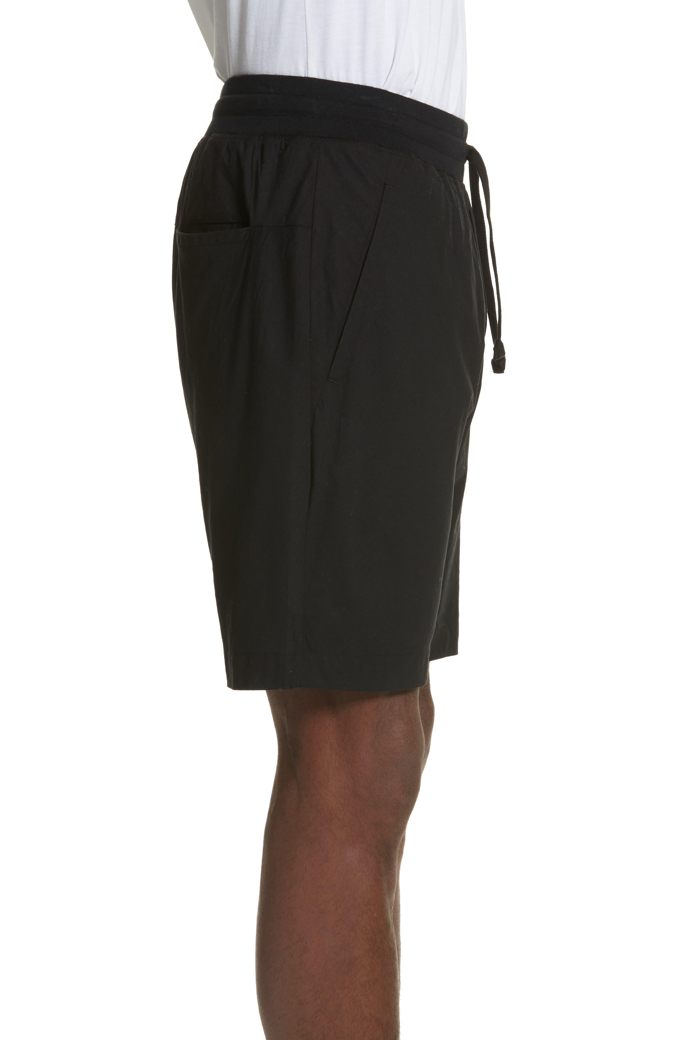 Overlay Shorts,                             Alternate thumbnail 3, color,                             Black