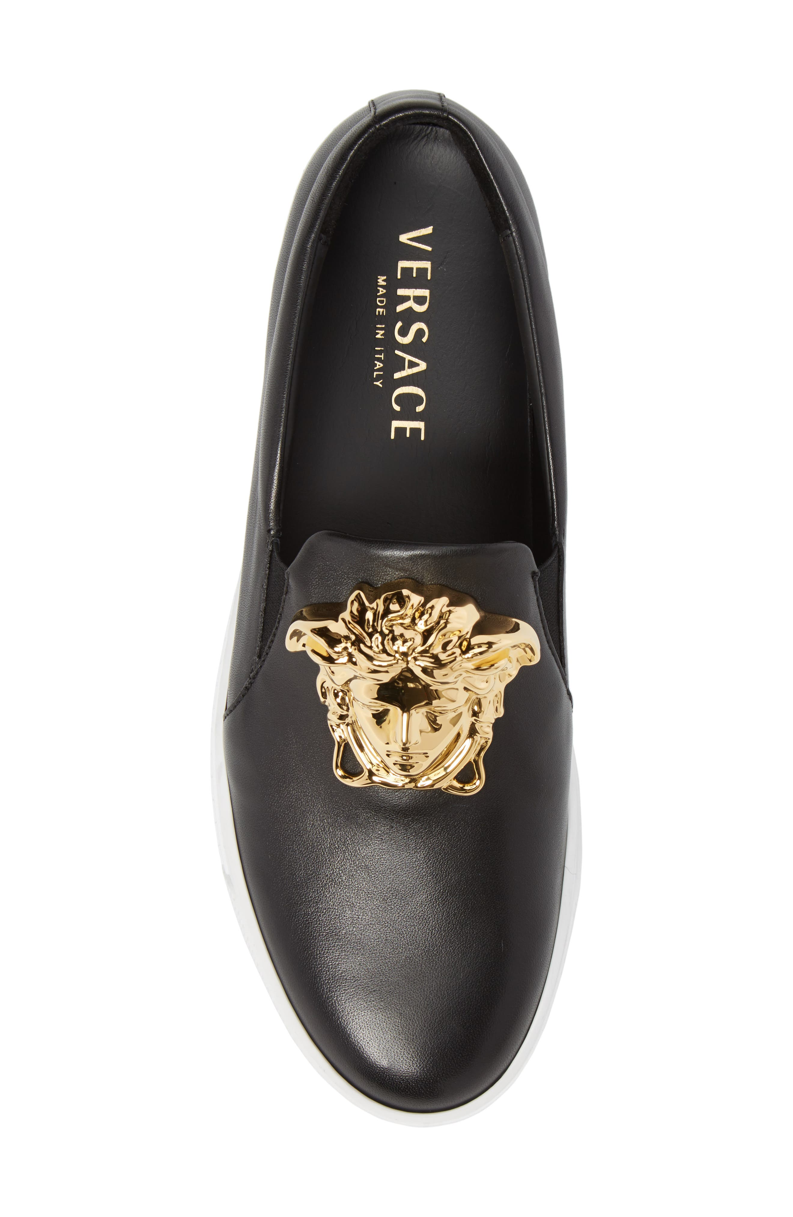 Alternate Image 5  - Versace First Line Iconic Palazzo Slip-On (Men)