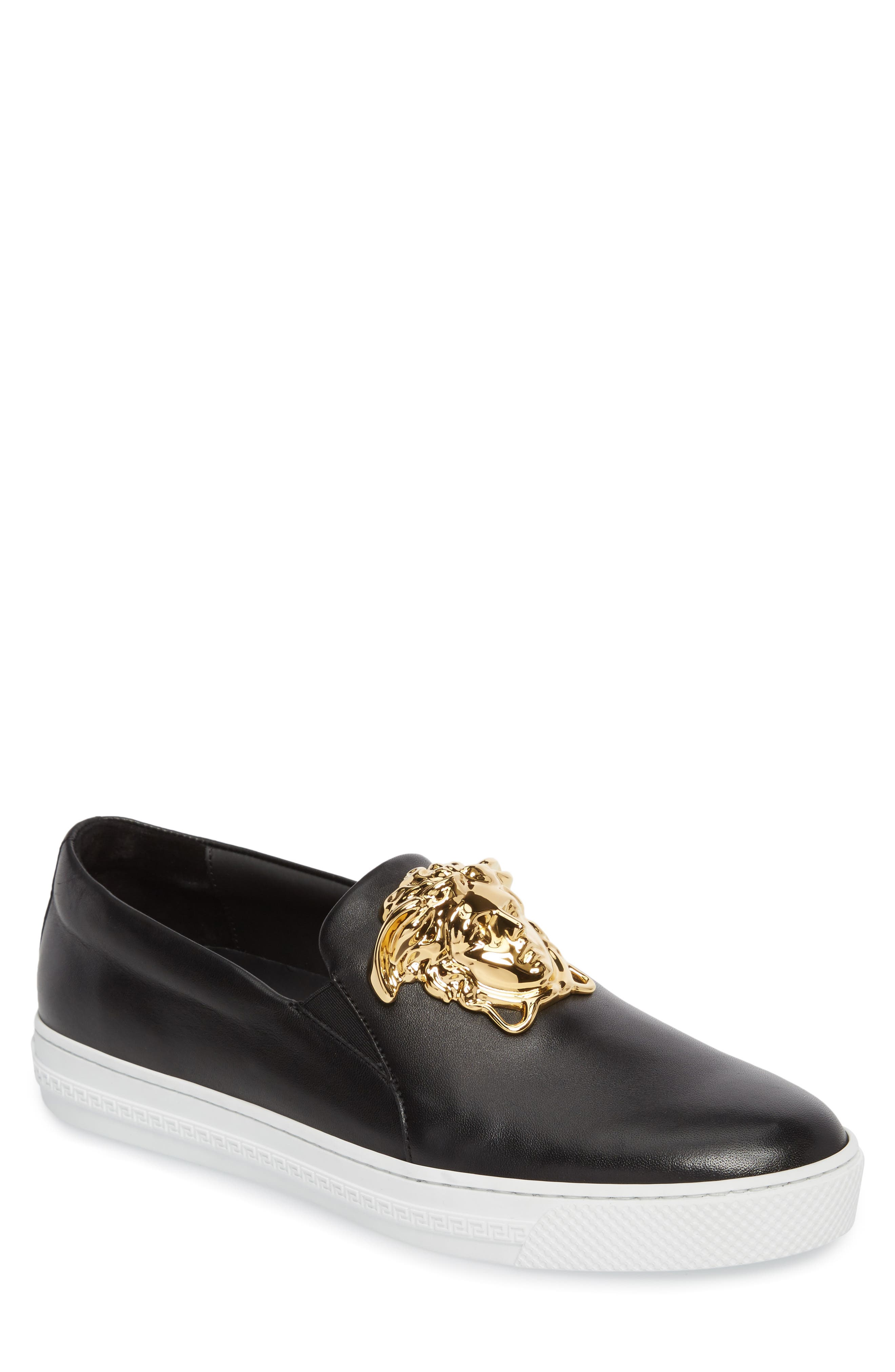 Alternate Image 1 Selected - Versace First Line Iconic Palazzo Slip-On (Men)
