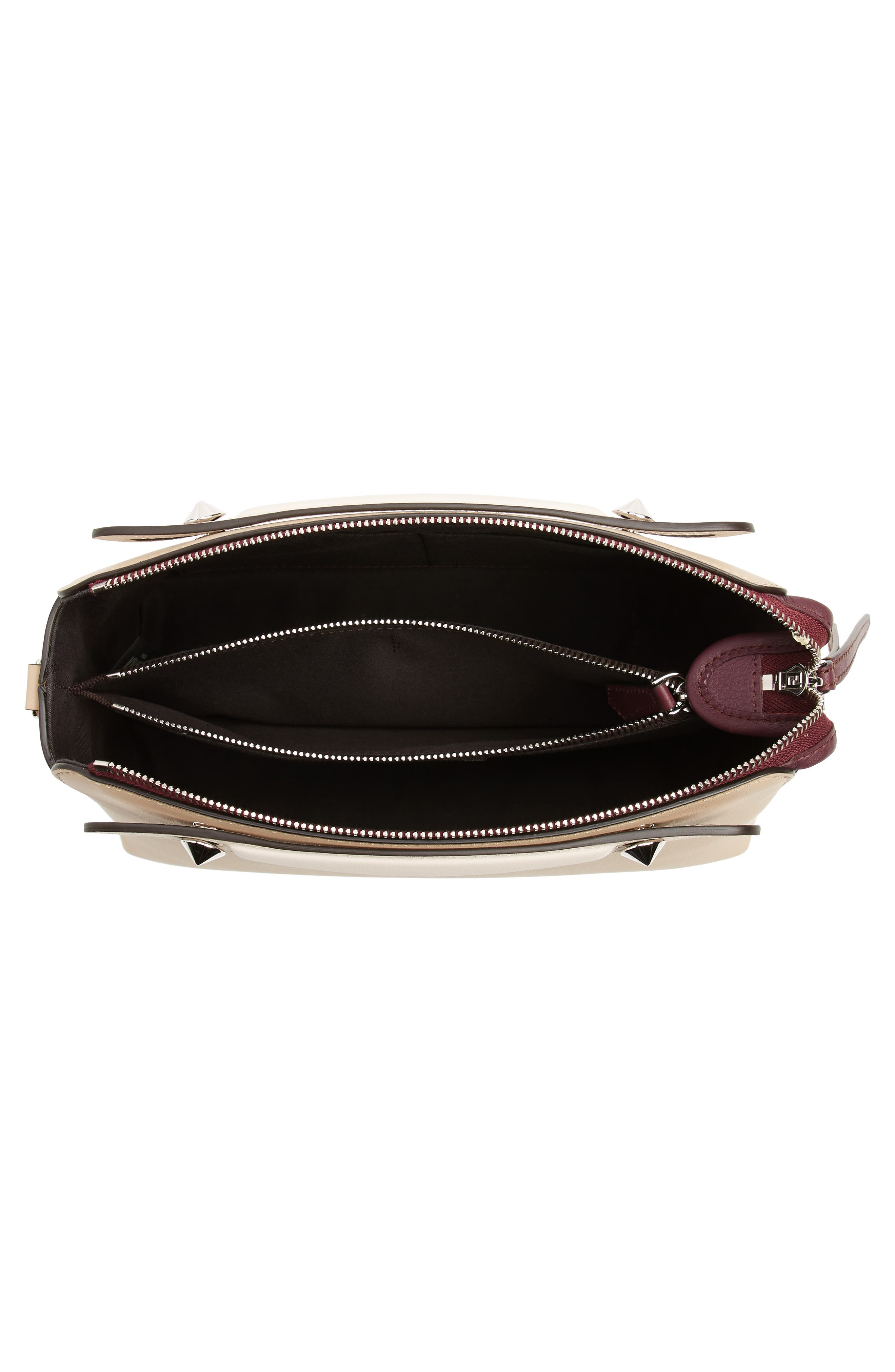 Alternate Image 4  - Fendi 'Medium By the Way' Colorblock Leather Shoulder Bag