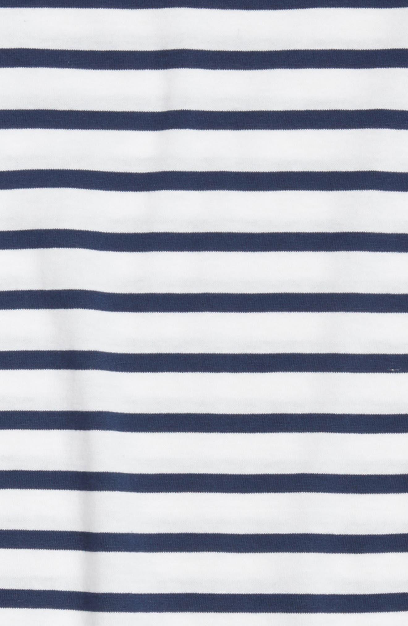 Alternate Image 2  - Saint James Minquiers Kids Striped Sailor Shirt (Toddlers, Little Kids & Big Kids)