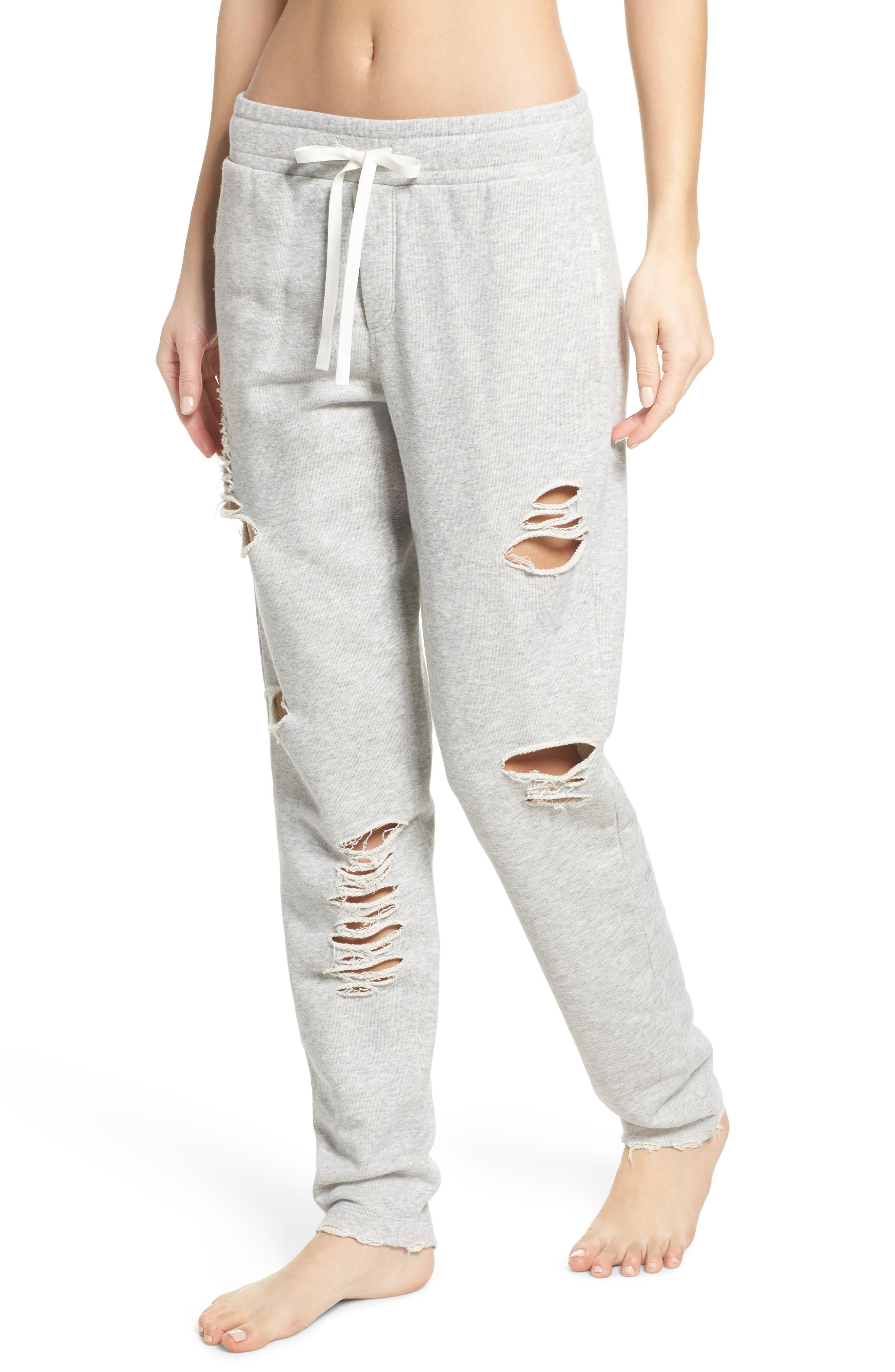 Main Image - Alo Ripped Sweatpants