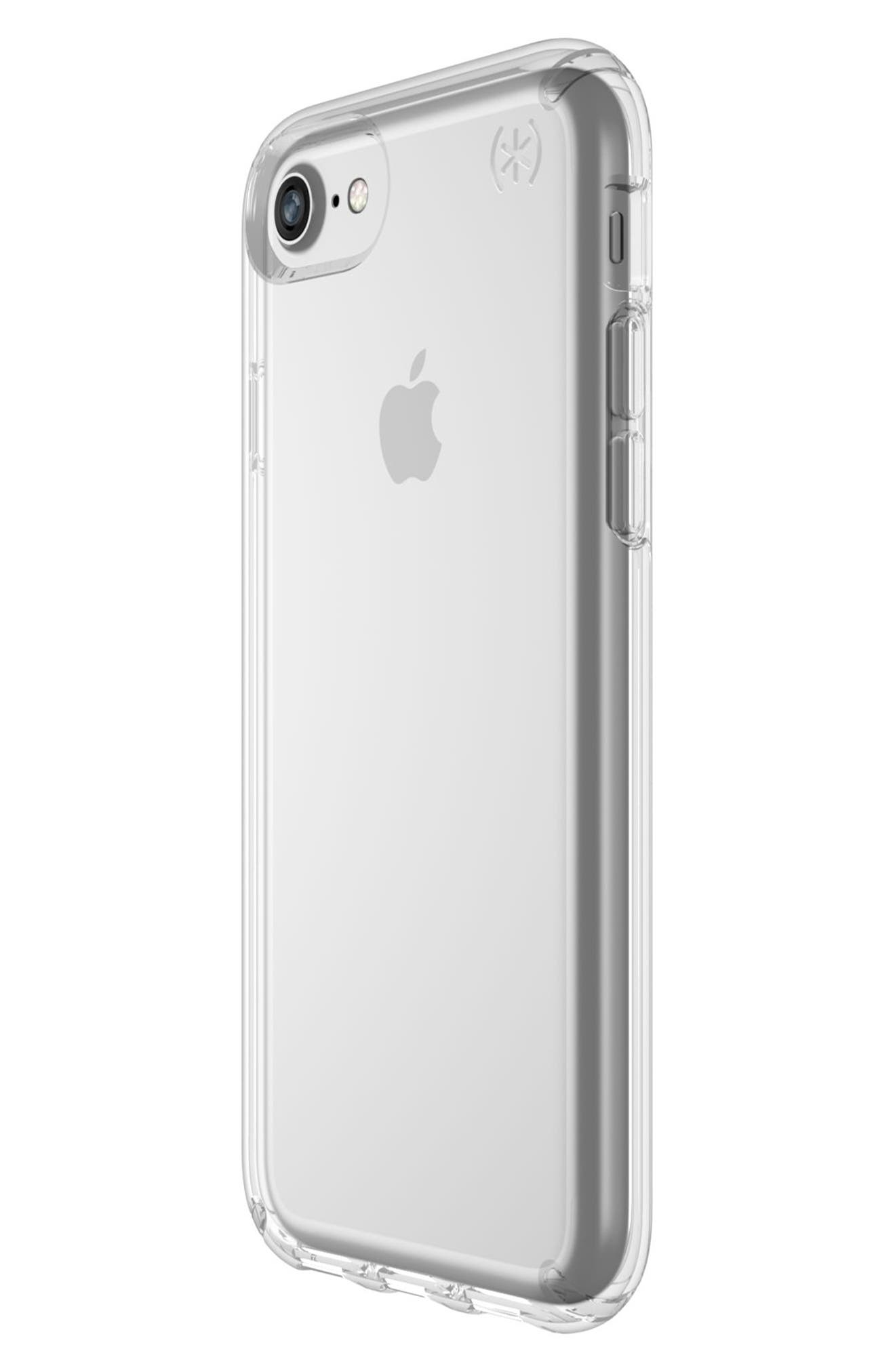 Transparent iPhone 6/6s/7/8 Case,                             Alternate thumbnail 3, color,                             Clear/ Clear