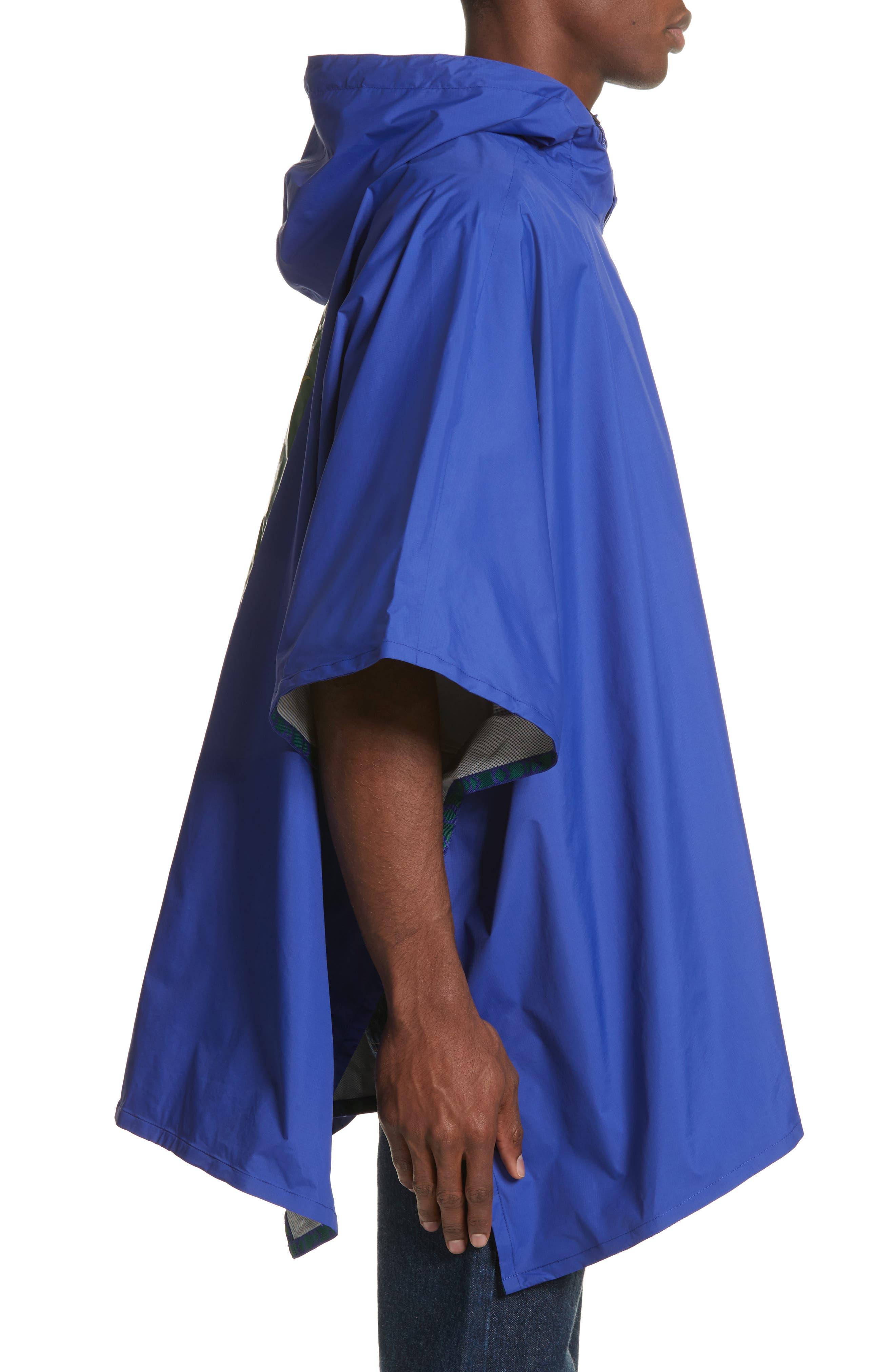 Unisex Rain Poncho,                             Alternate thumbnail 9, color,                             Lapis Blue