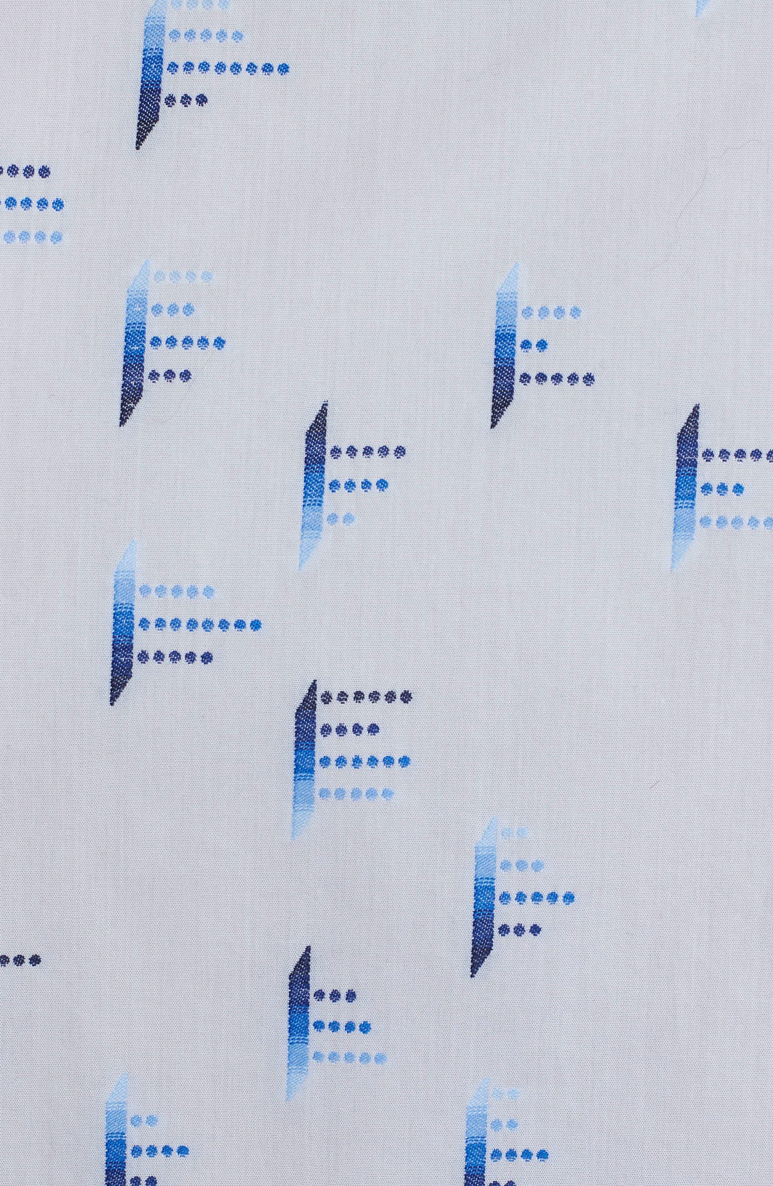 Alternate Image 7  - Robert Graham Reid Classic Fit Print Sport Shirt