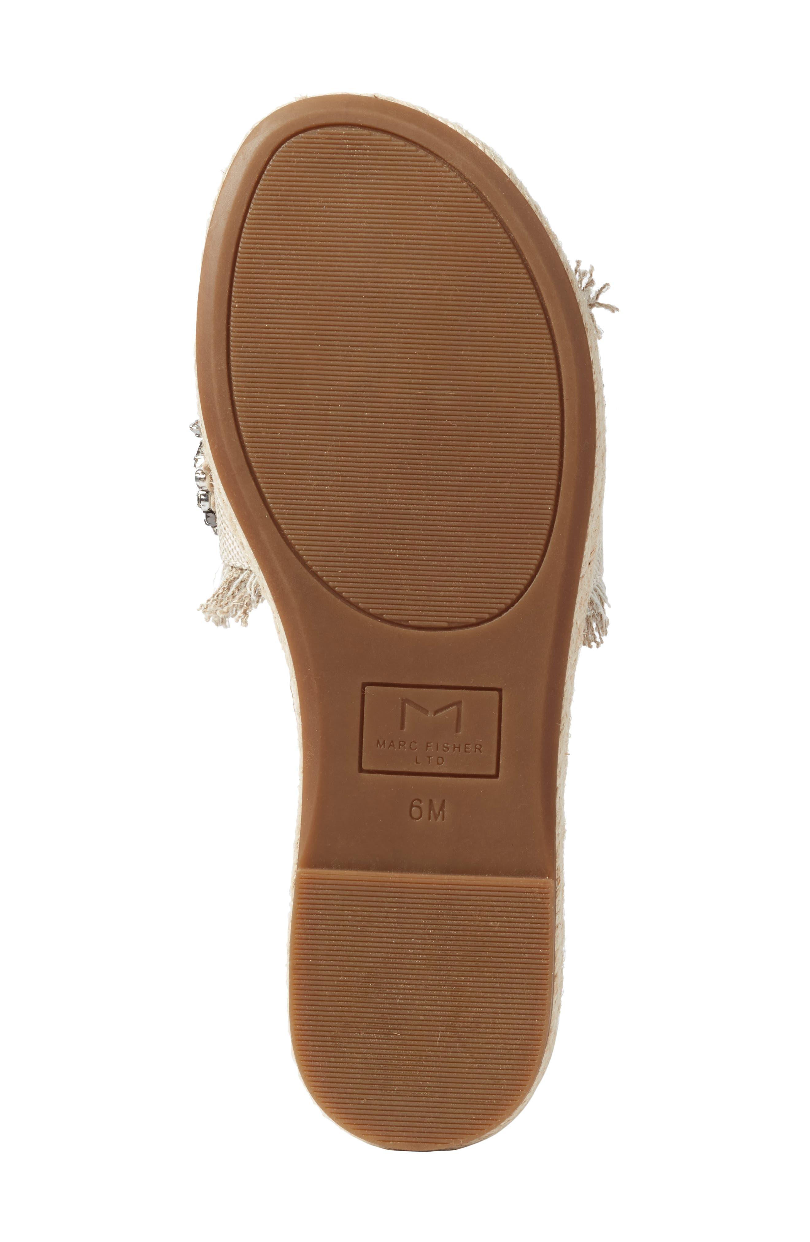 Alternate Image 6  - Marc Fisher LTD Jelly II Embellished Sandal (Women)