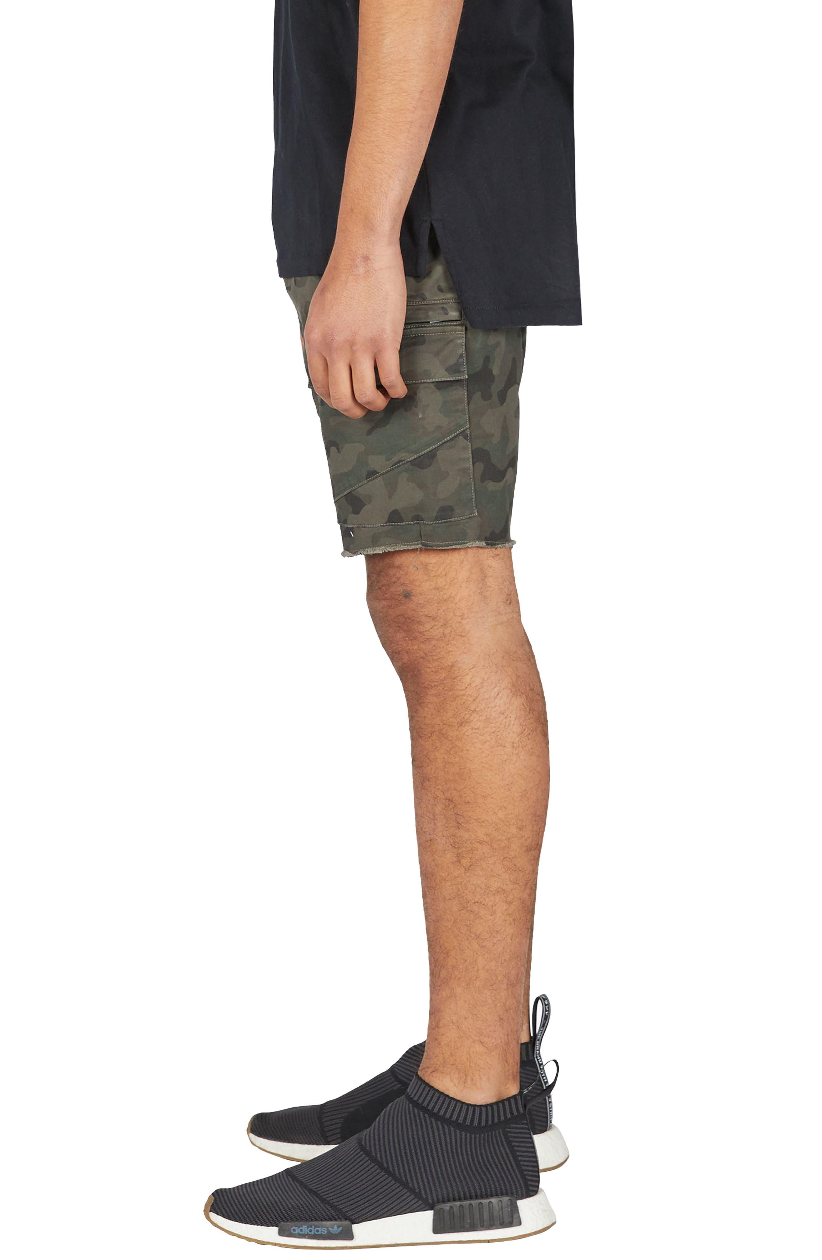 Sureshot Camo Cargo Shorts,                             Alternate thumbnail 3, color,                             Camo