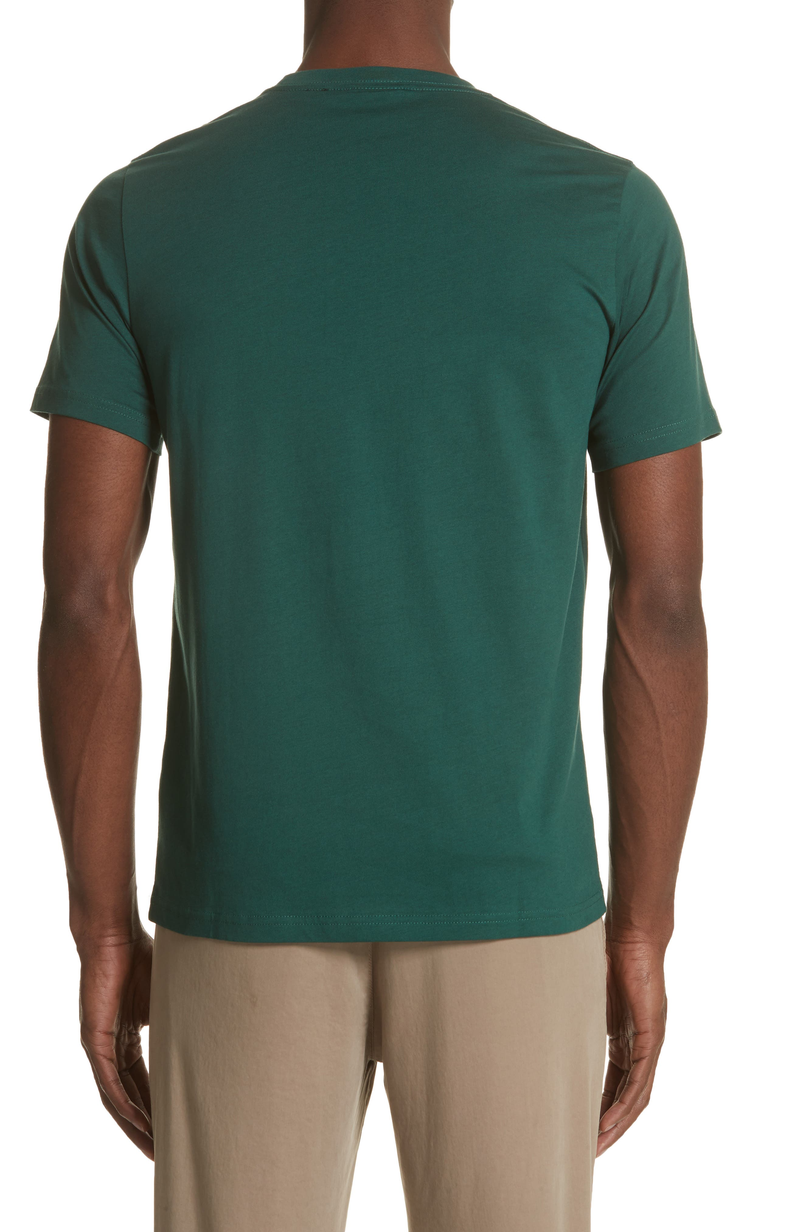 Triangle Graphic T-Shirt,                             Alternate thumbnail 2, color,                             Green