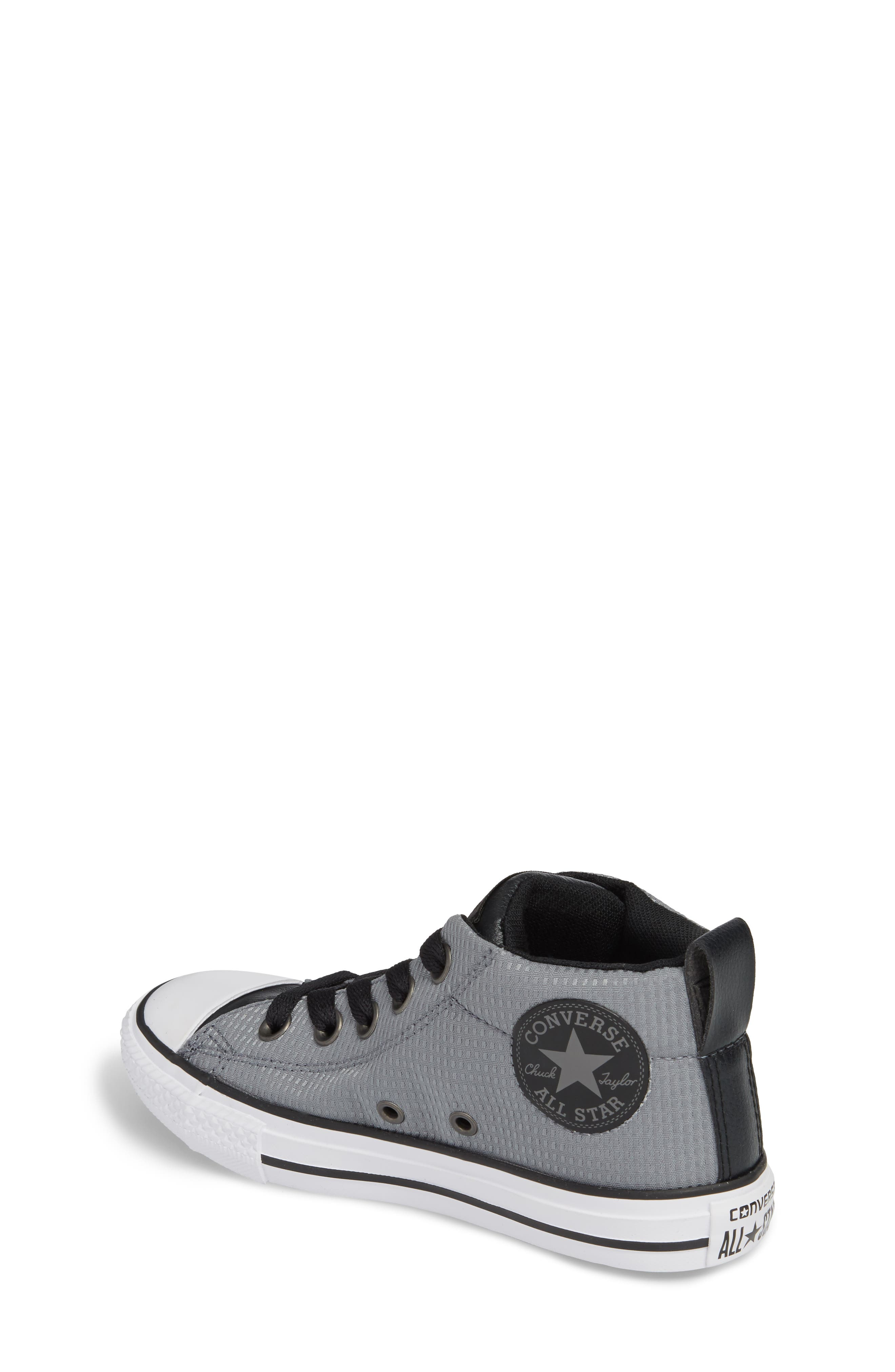 Chuck Taylor<sup>®</sup> All Star<sup>®</sup> Street Mid Backpack Sneaker,                             Alternate thumbnail 2, color,                             Cool Grey