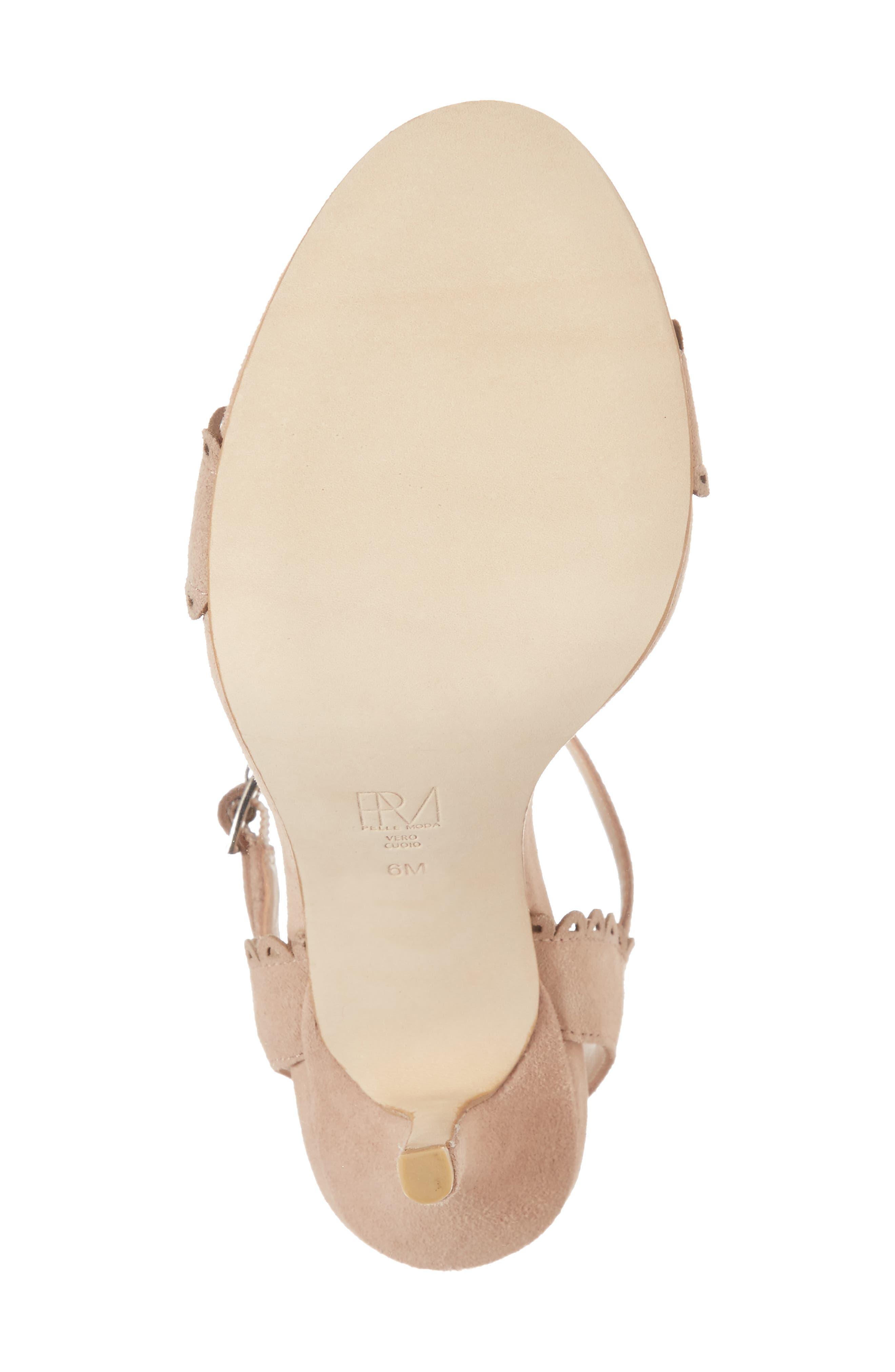 Alternate Image 6  - Pelle Moda Karen Scallop Ankle Strap Sandal (Women)