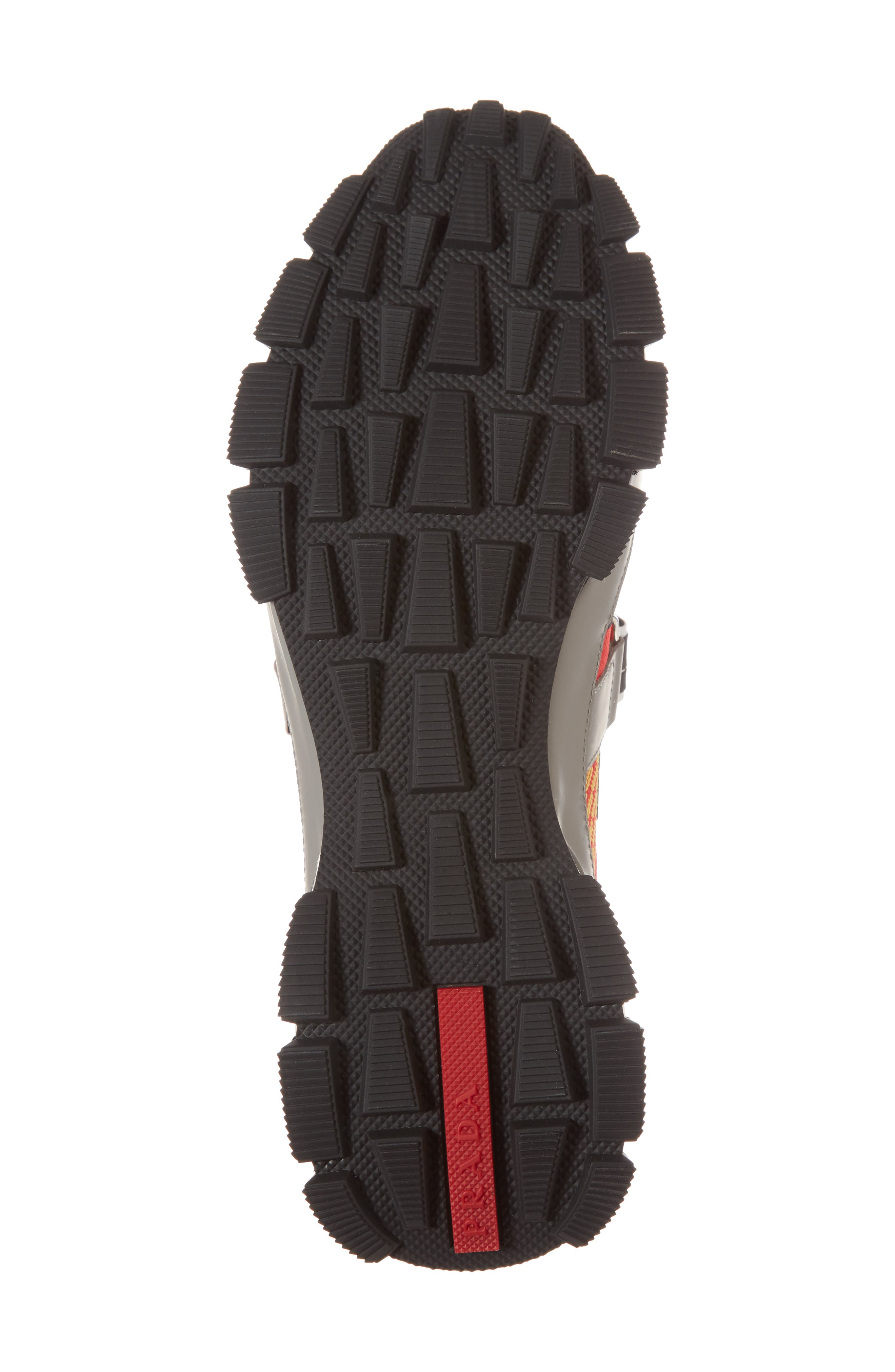 Linea Rossa Strap Sneaker,                             Alternate thumbnail 6, color,                             Scarlatto Red
