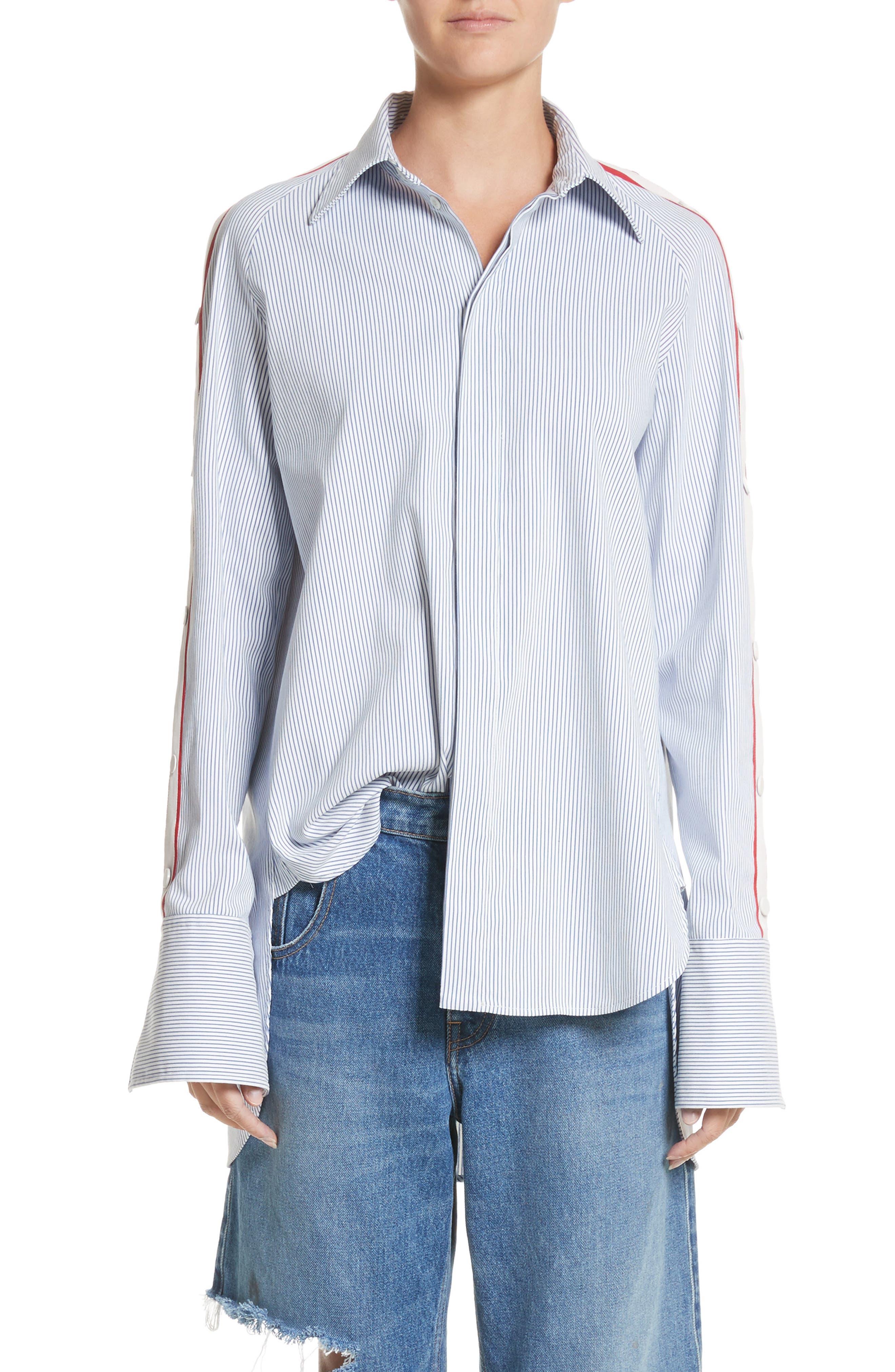 MONSE Snap Sleeve Shirt