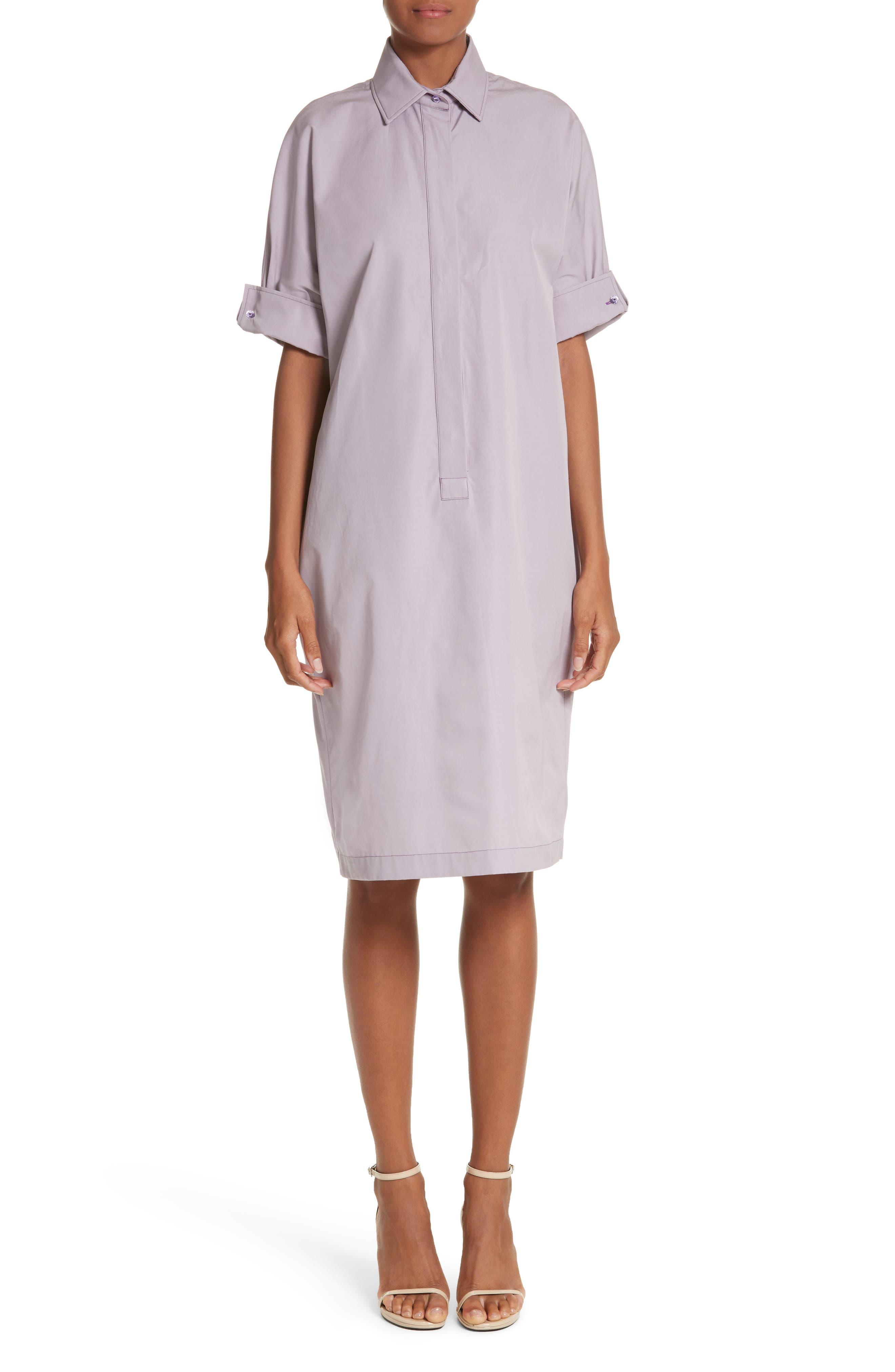 Alternate Image 1 Selected - Max Mara Baccano Cotton Shirtdress