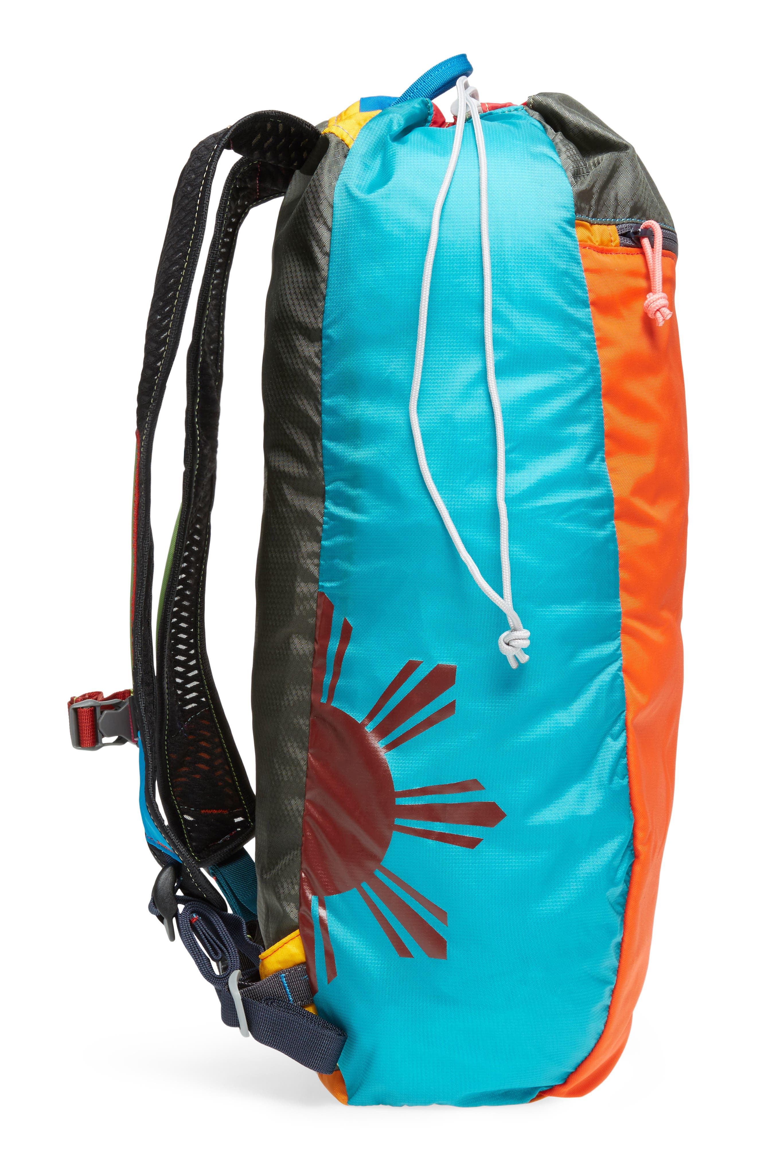 Luzon Del Día One of a Kind Ripstop Nylon Daypack,                             Alternate thumbnail 5, color,                             Assorted