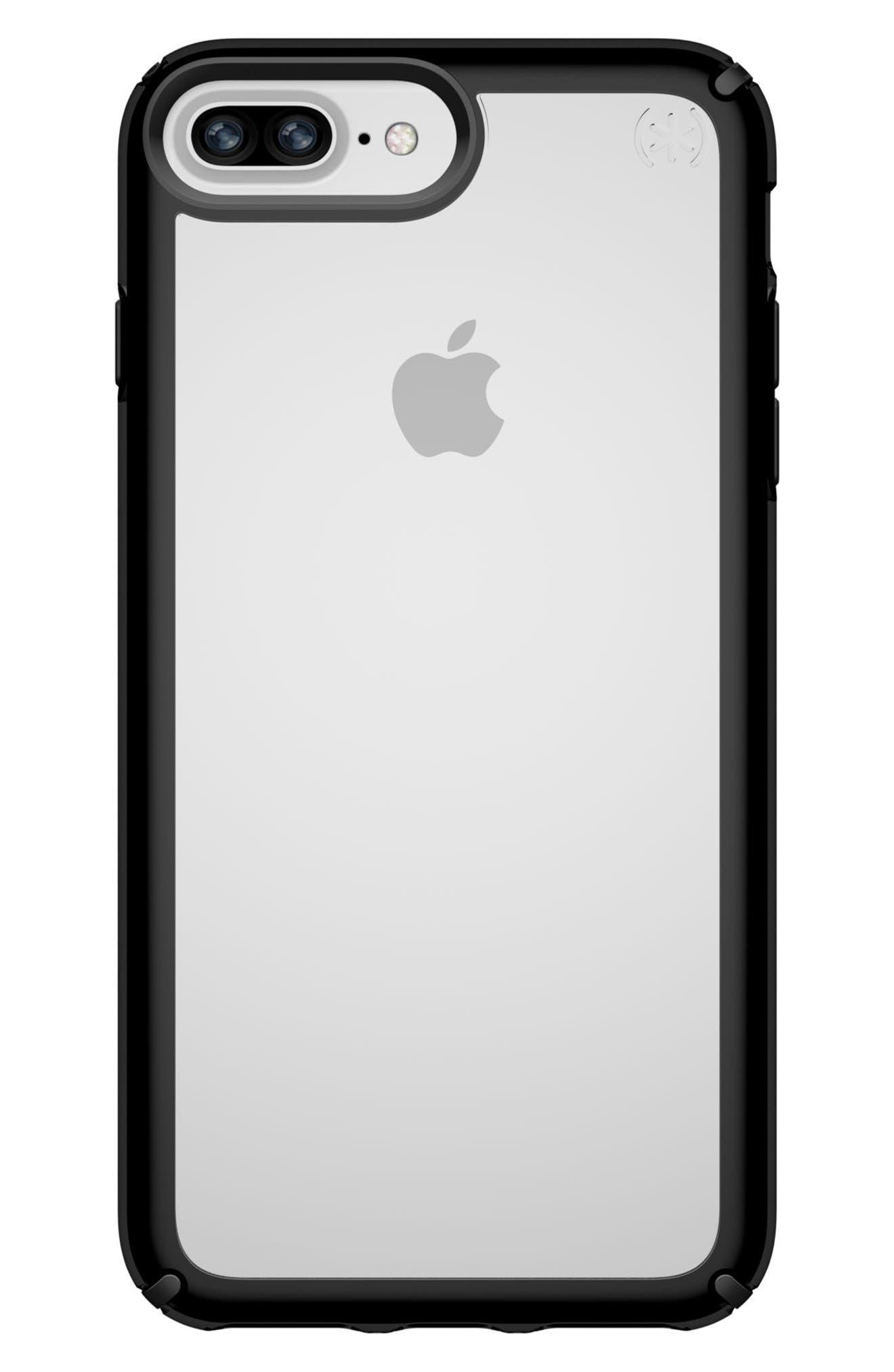 iPhone 6/6s/7/8 Plus Case,                         Main,                         color, Clear/ Black