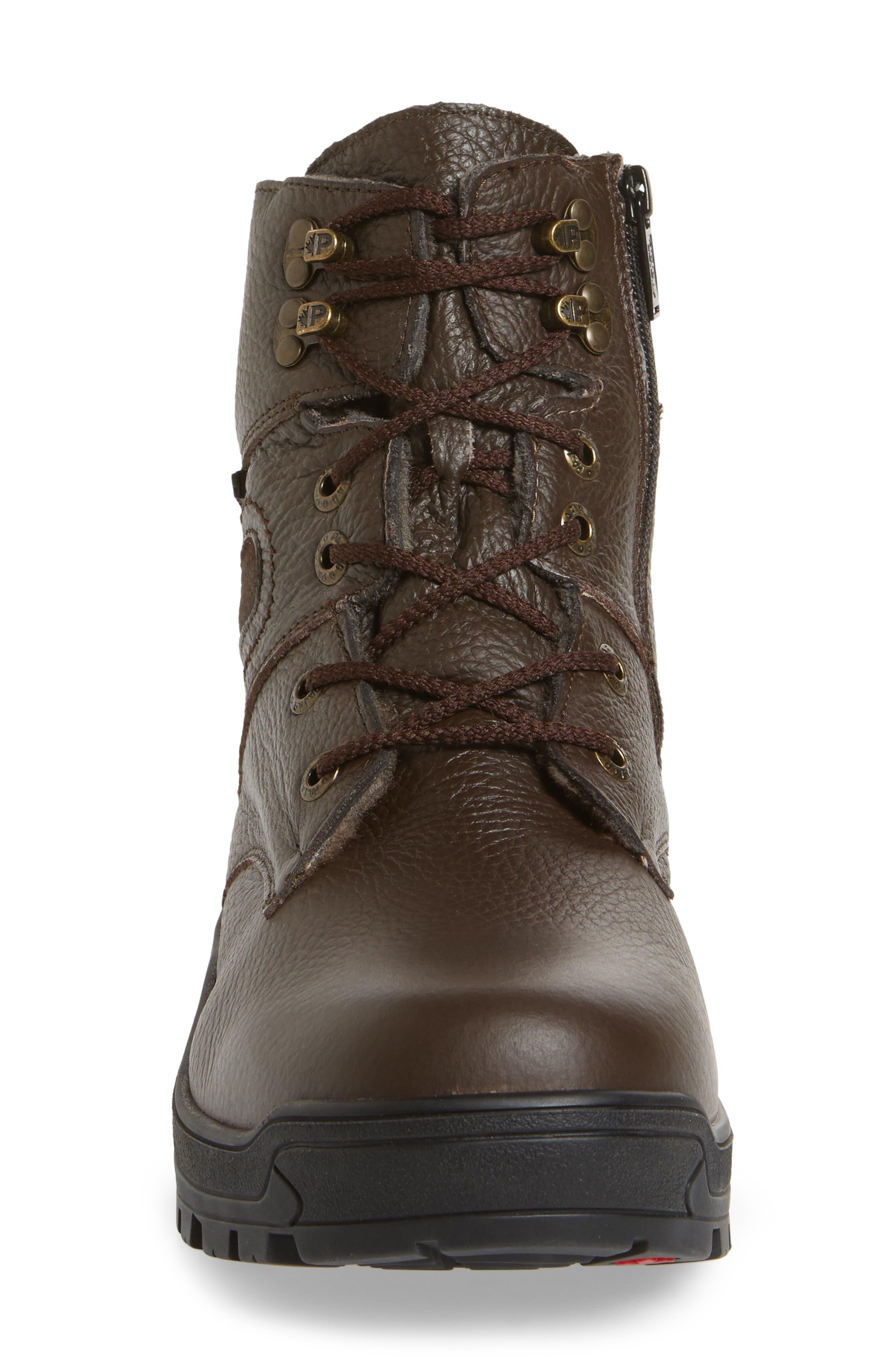 Alternate Image 4  - Pajar Harry Genuine Shearling Lined Plain Toe Boot (men)