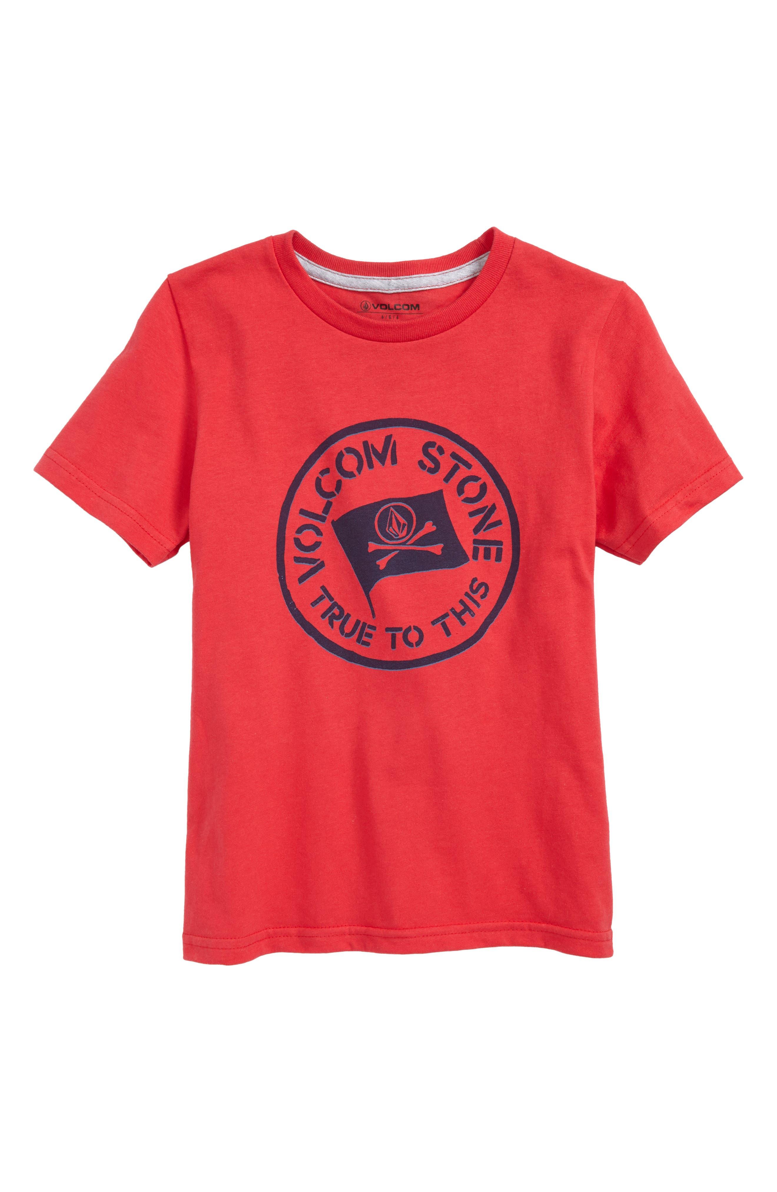 Volcom Jolly Rebel T-Shirt (Toddler Boys & Little Boys)
