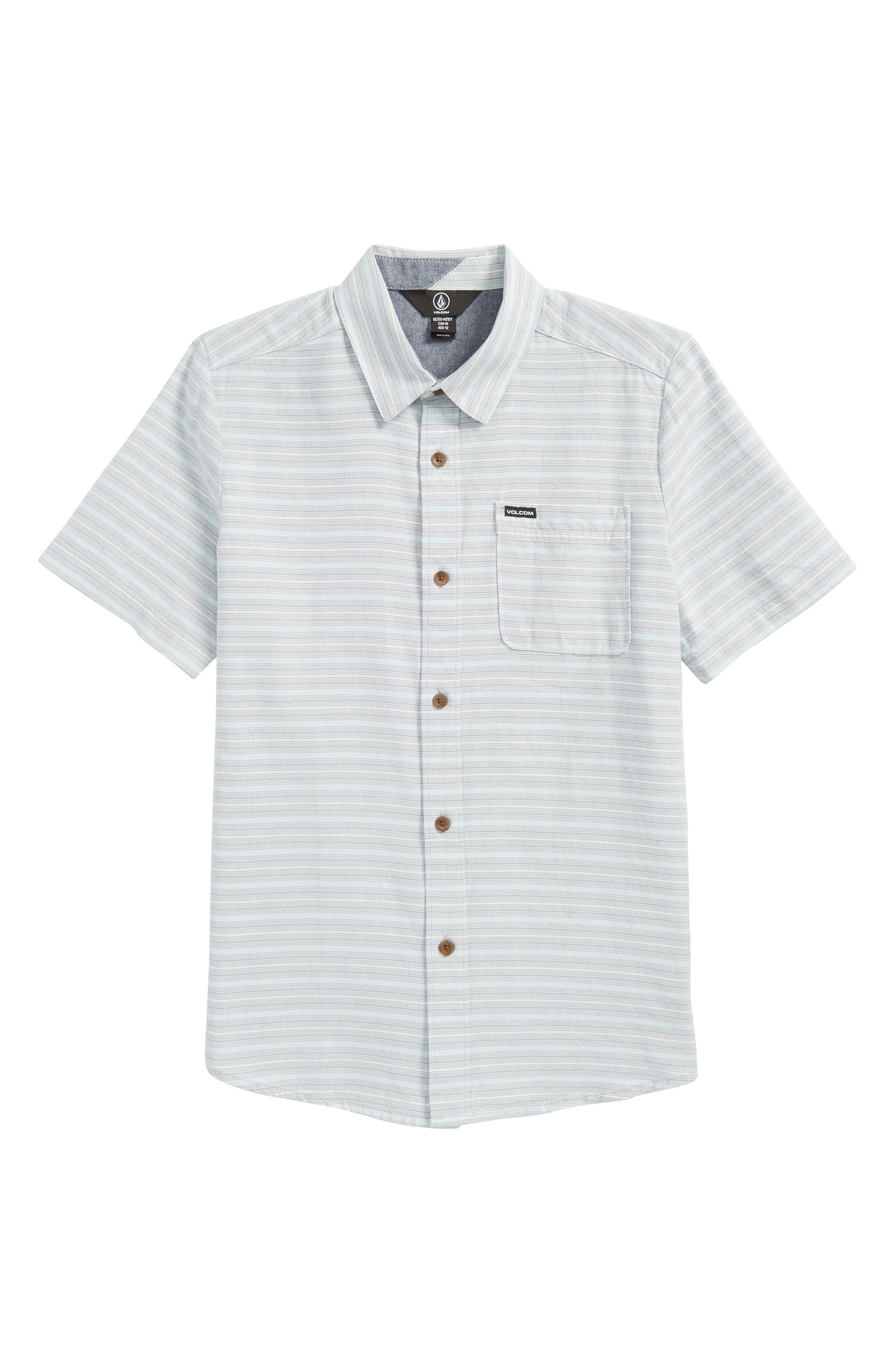 Eastport Basket Weave Shirt,                         Main,                         color, Wrecked Indigo