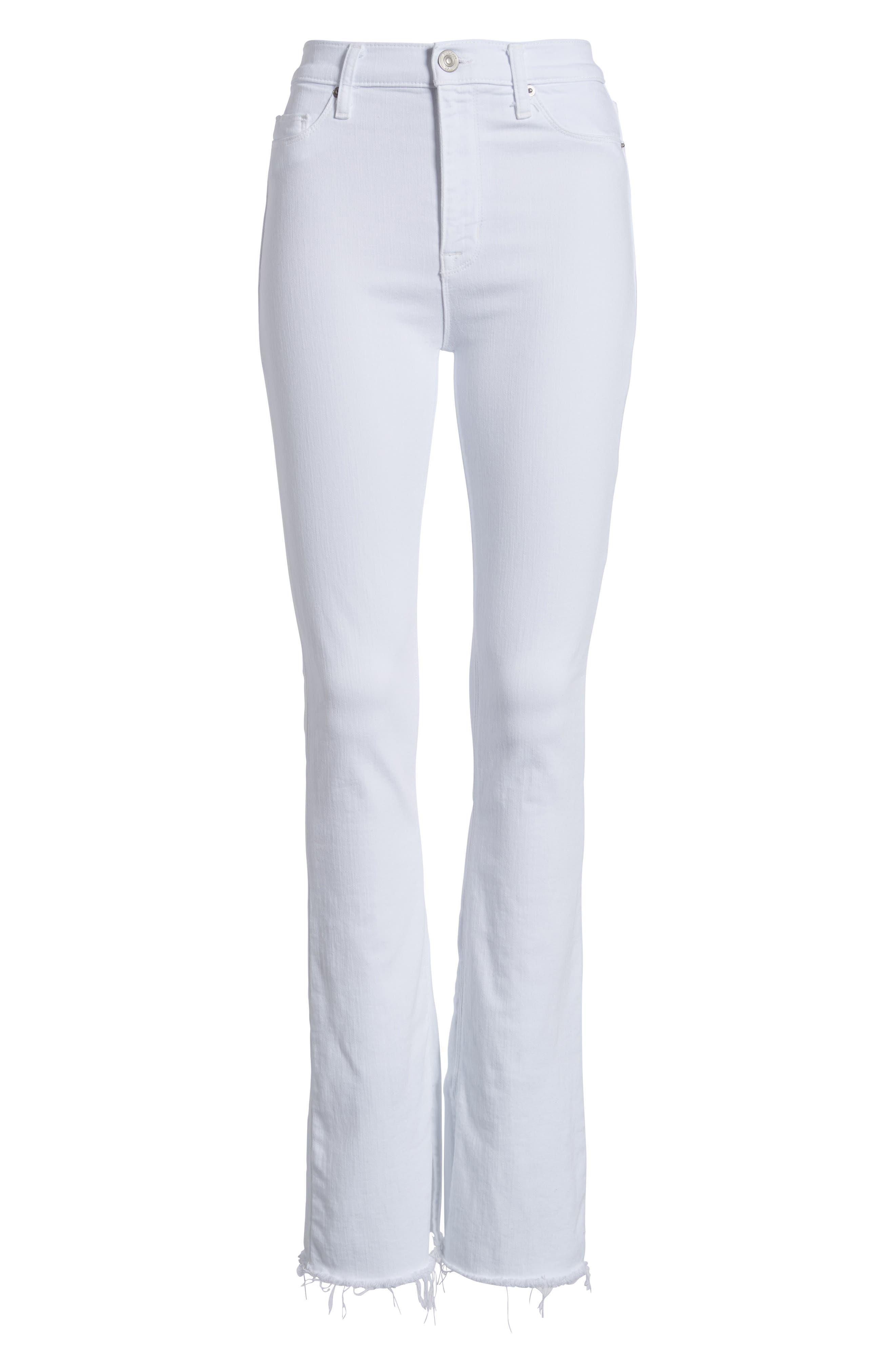 Alternate Image 6  - Hudson Jeans Heartbreaker High Waist Bootcut Jeans (Optical White)