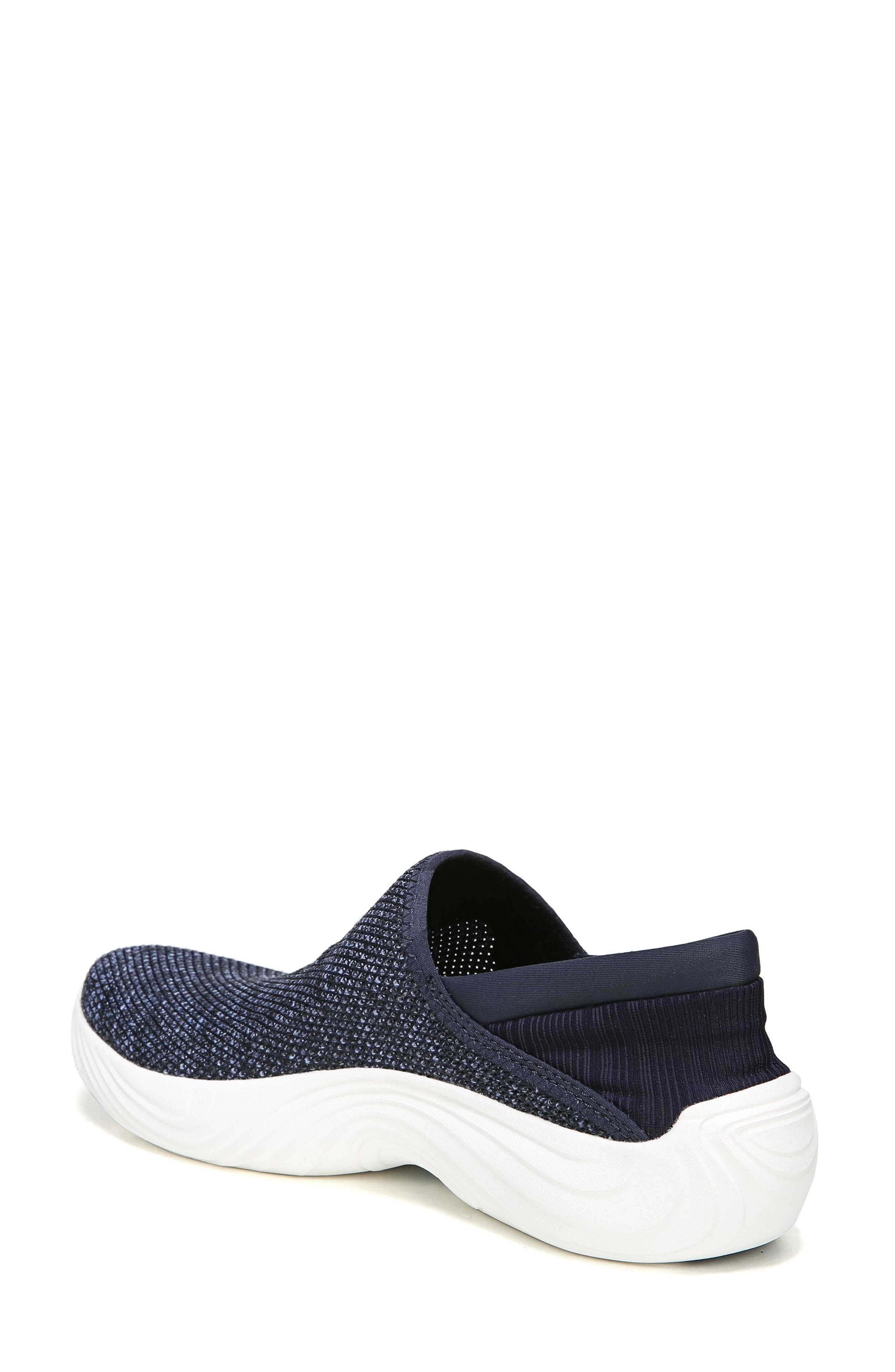 Topaz Slip-On Sneaker,                             Alternate thumbnail 2, color,                             Navy Fabric
